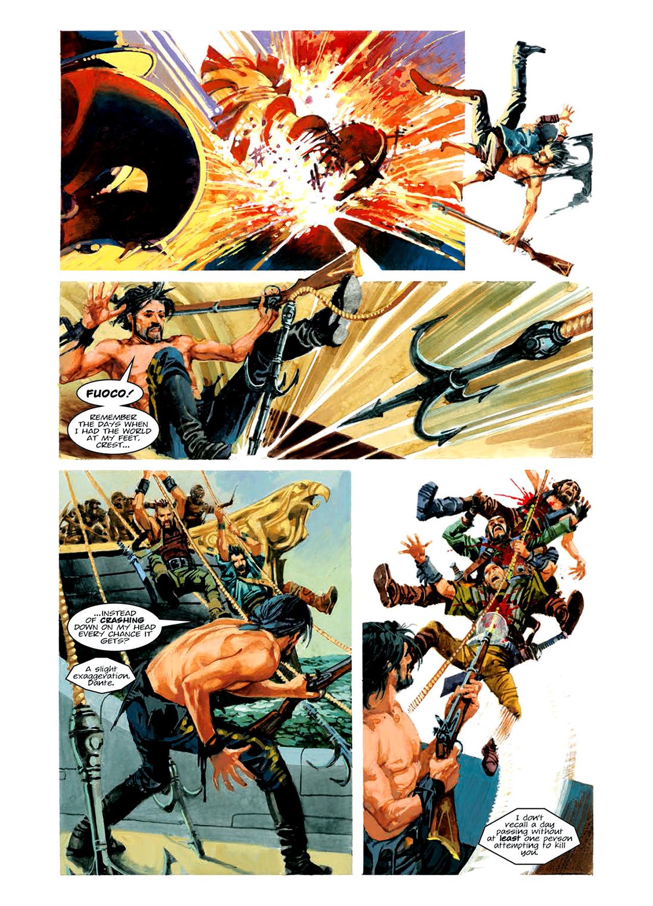 Read online Nikolai Dante comic -  Issue # TPB 6 - 100