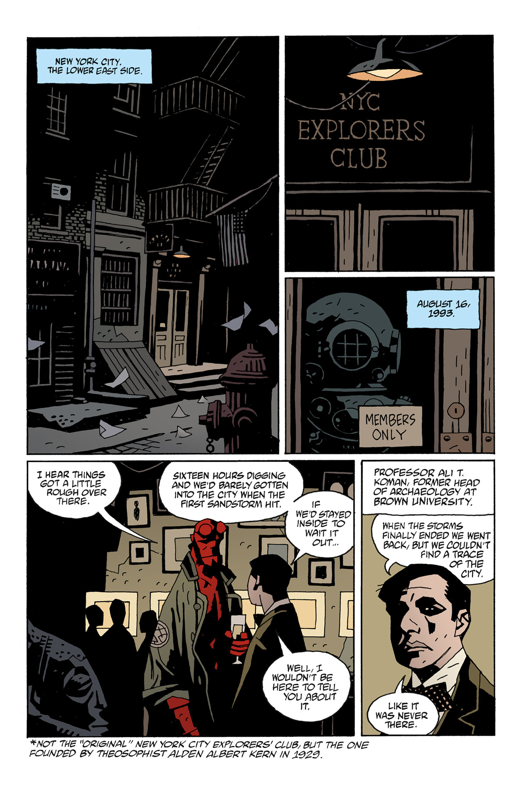 Read online Hellboy: The Troll Witch and Others comic -  Issue # TPB - 84
