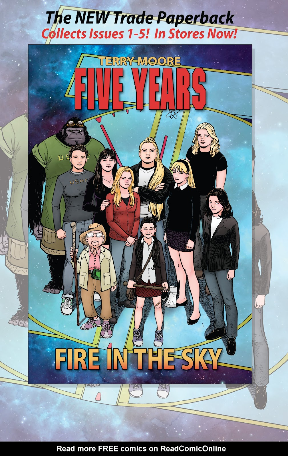 Read online Five Years comic -  Issue #9 - 27