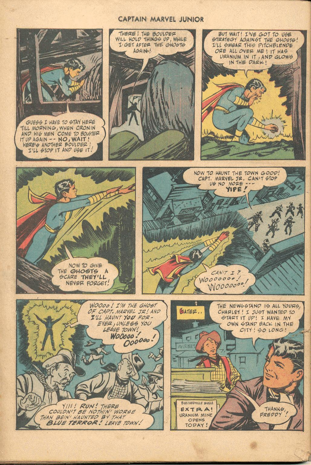 Captain Marvel, Jr. issue 38 - Page 45