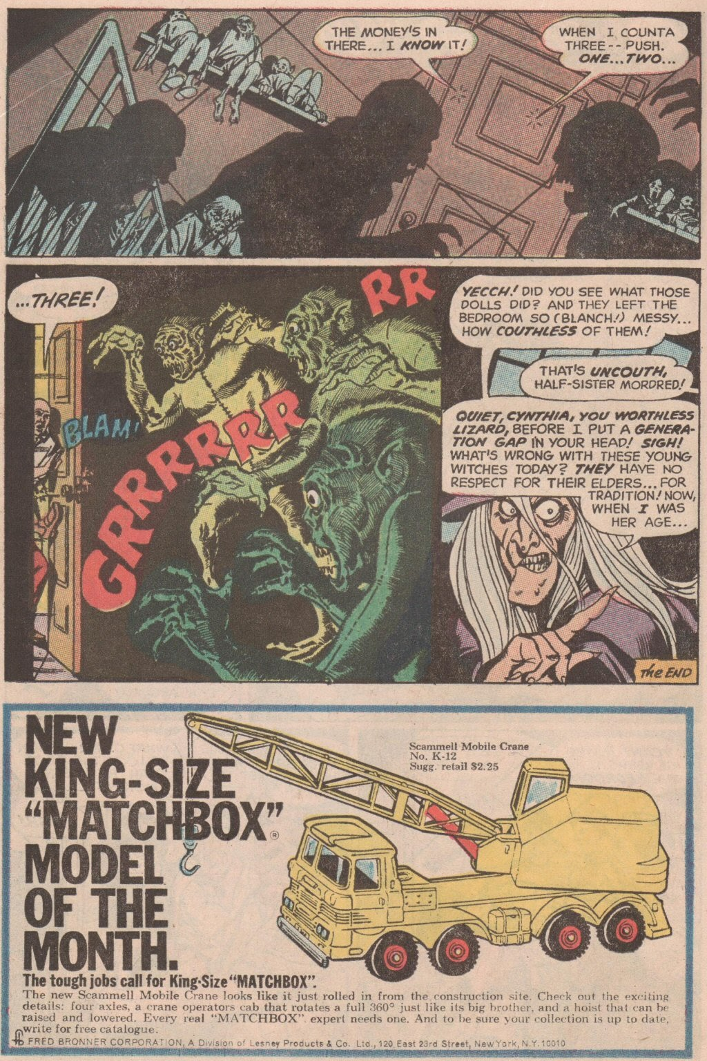 The Witching Hour (1969) issue 6 - Page 17