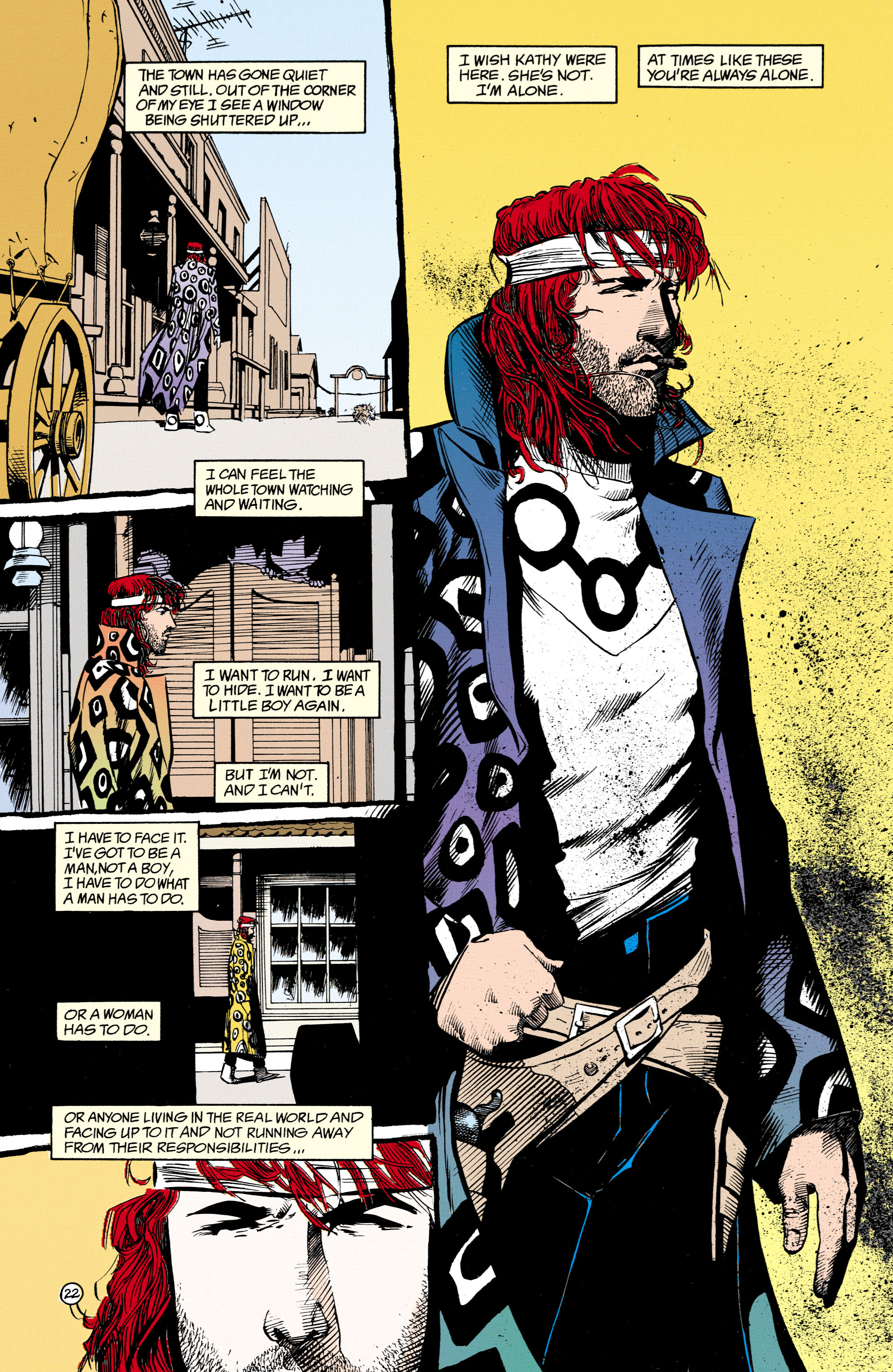 Read online Shade, the Changing Man comic -  Issue #16 - 22