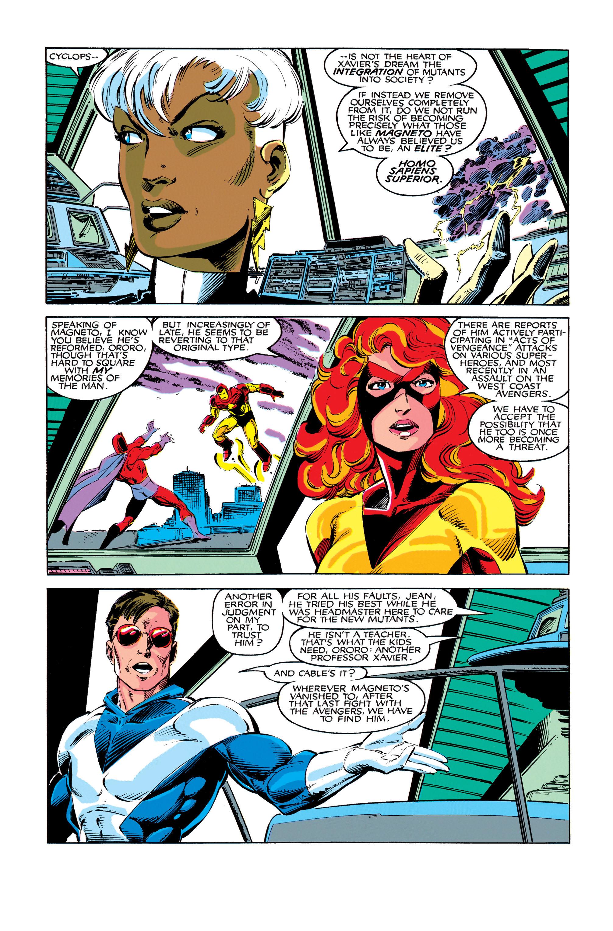 Read online Uncanny X-Men (1963) comic -  Issue #273 - 8