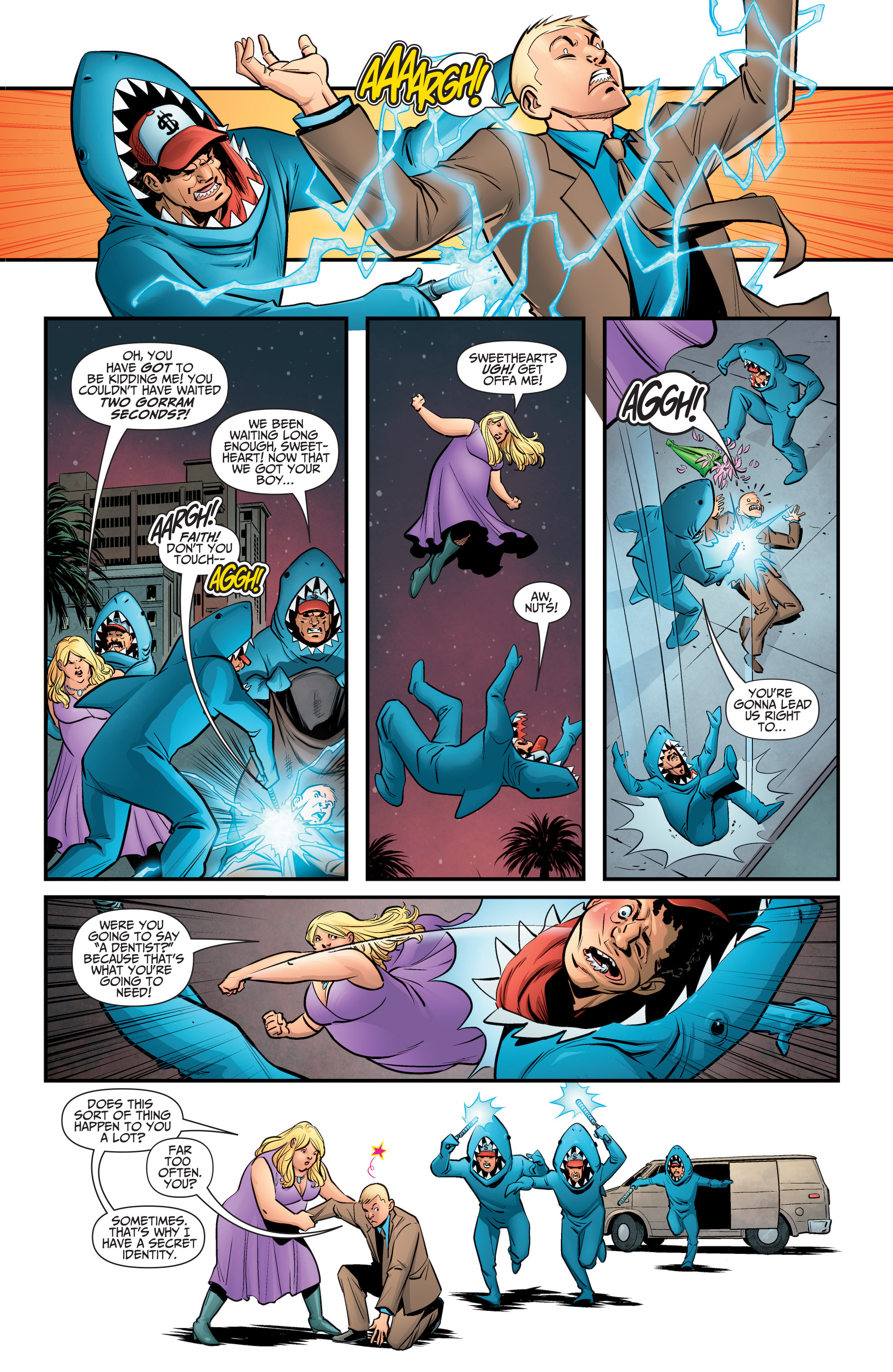 Read online A&A: The Adventures of Archer & Armstrong comic -  Issue #5 - 15