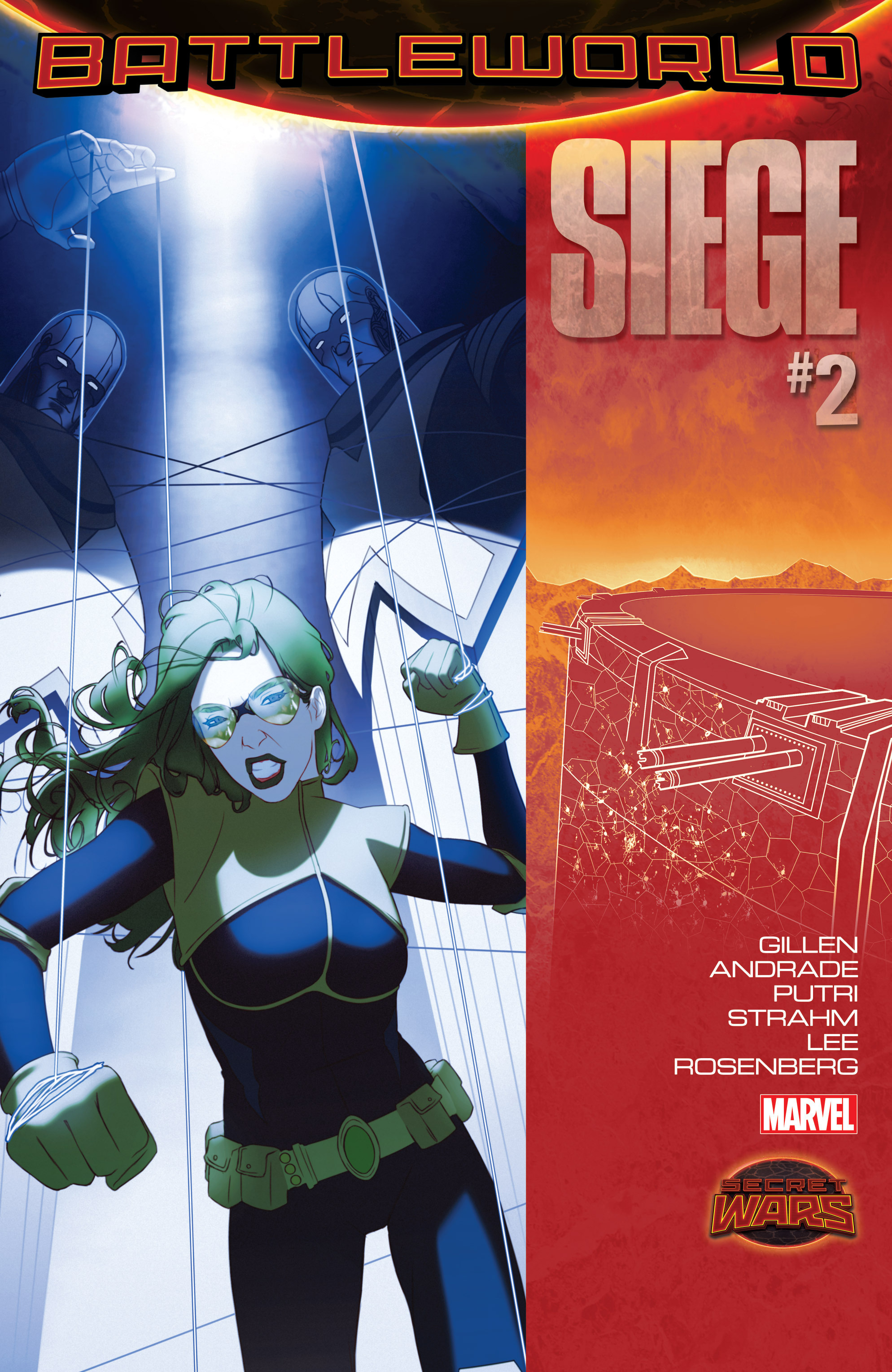 Read online Siege (2015) comic -  Issue #2 - 1