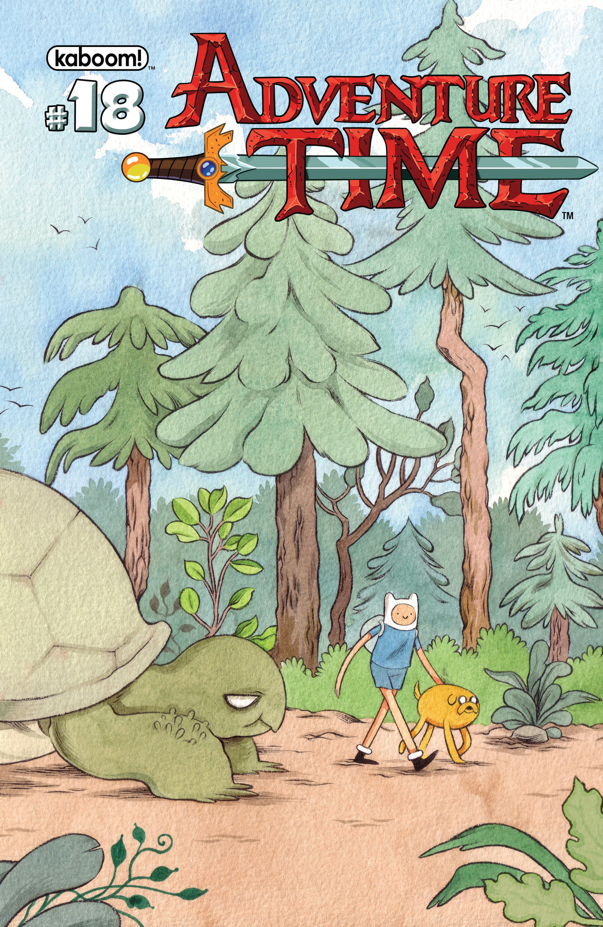 Read online Adventure Time comic -  Issue #18 - 2