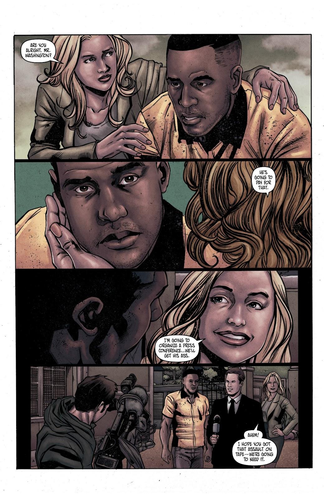 Read online Vindication comic -  Issue #1 - 8