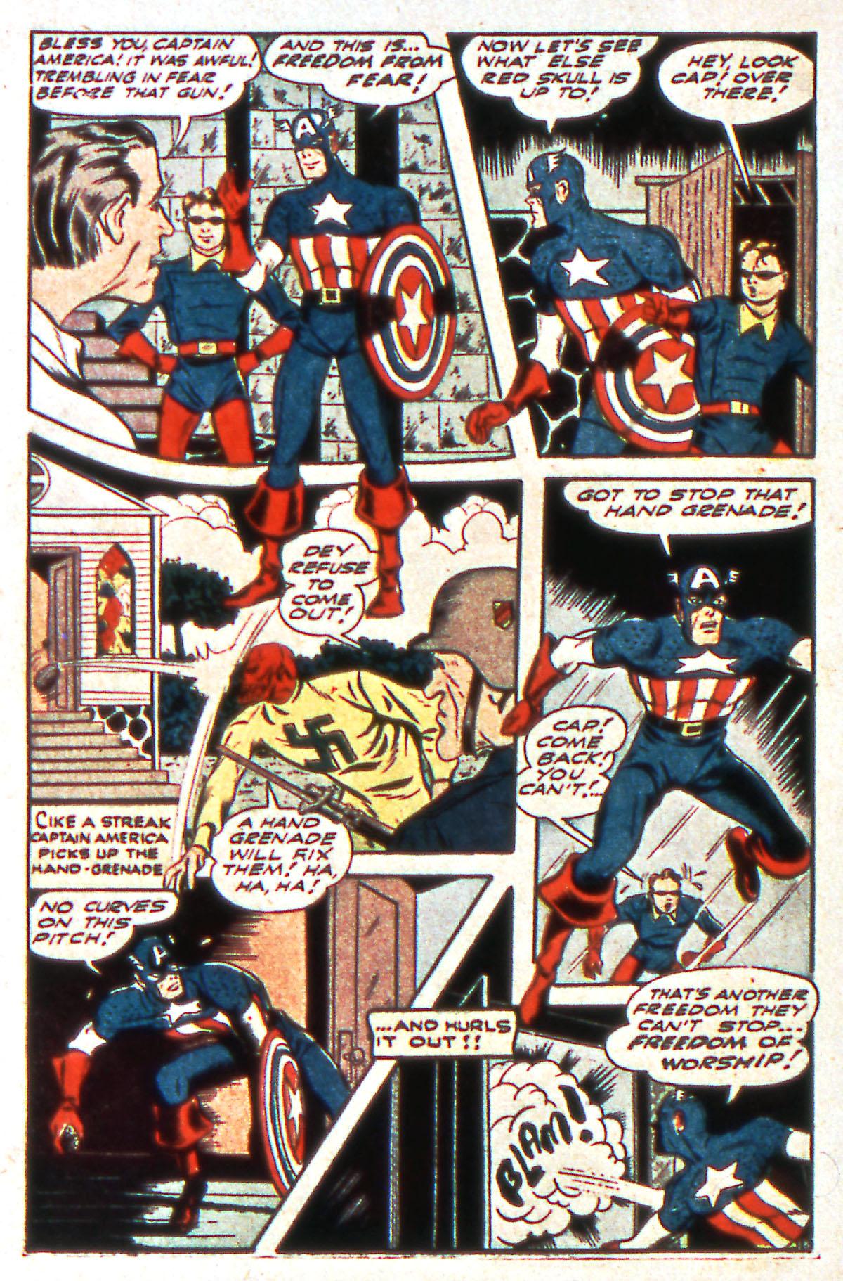 Read online All-Winners Comics comic -  Issue #12 - 22