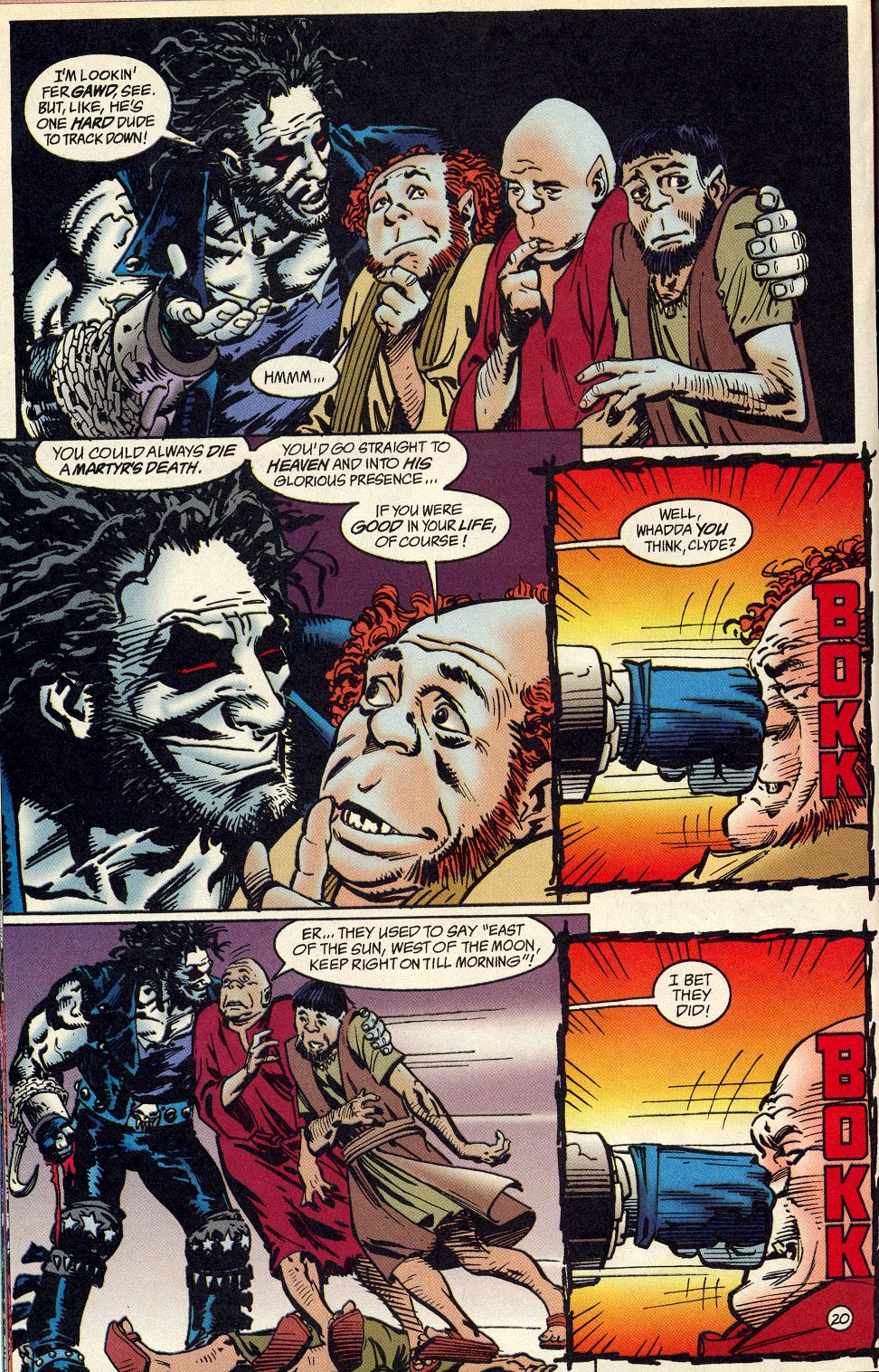 Read online Lobo: A Contract on Gawd comic -  Issue #1 - 21