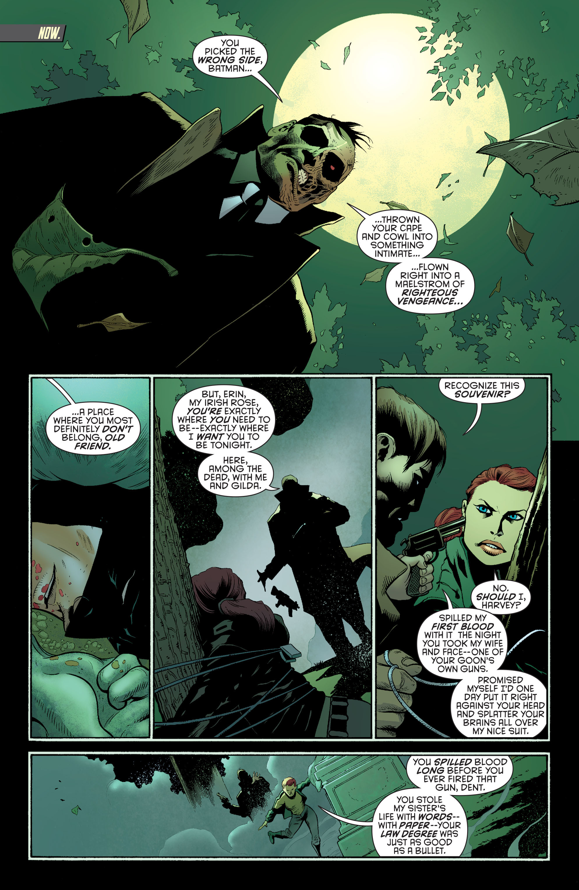 Read online Batman and Robin (2011) comic -  Issue #27 - Batman and Two-Face - 2