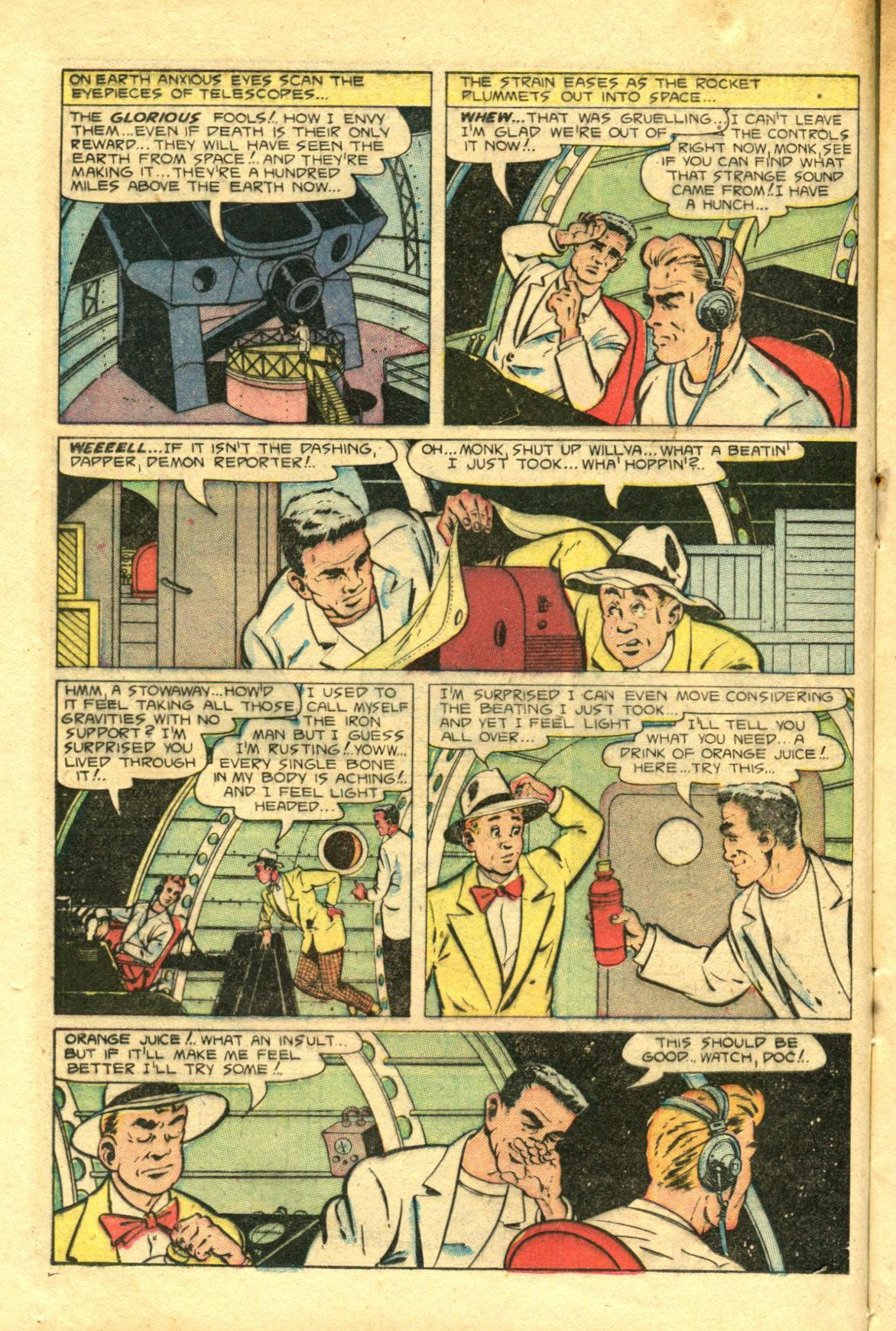 Read online Shadow Comics comic -  Issue #98 - 20