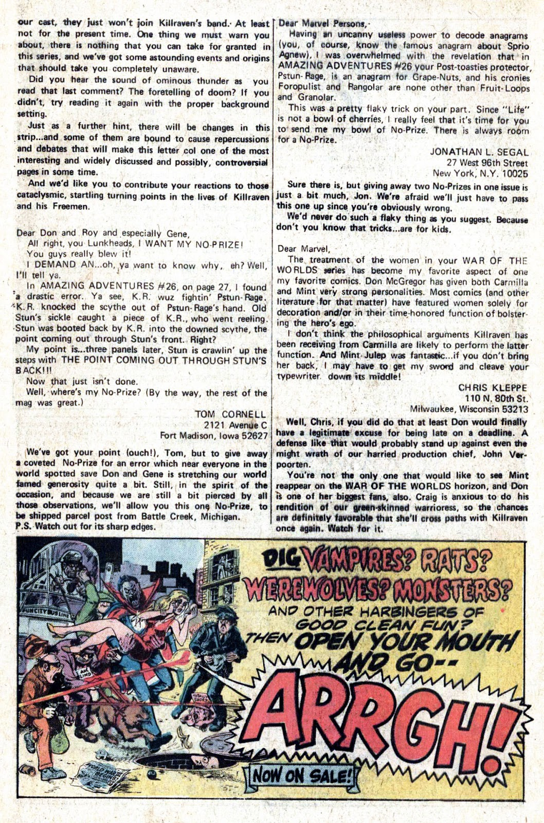 Amazing Adventures (1970) issue 28 - Page 32