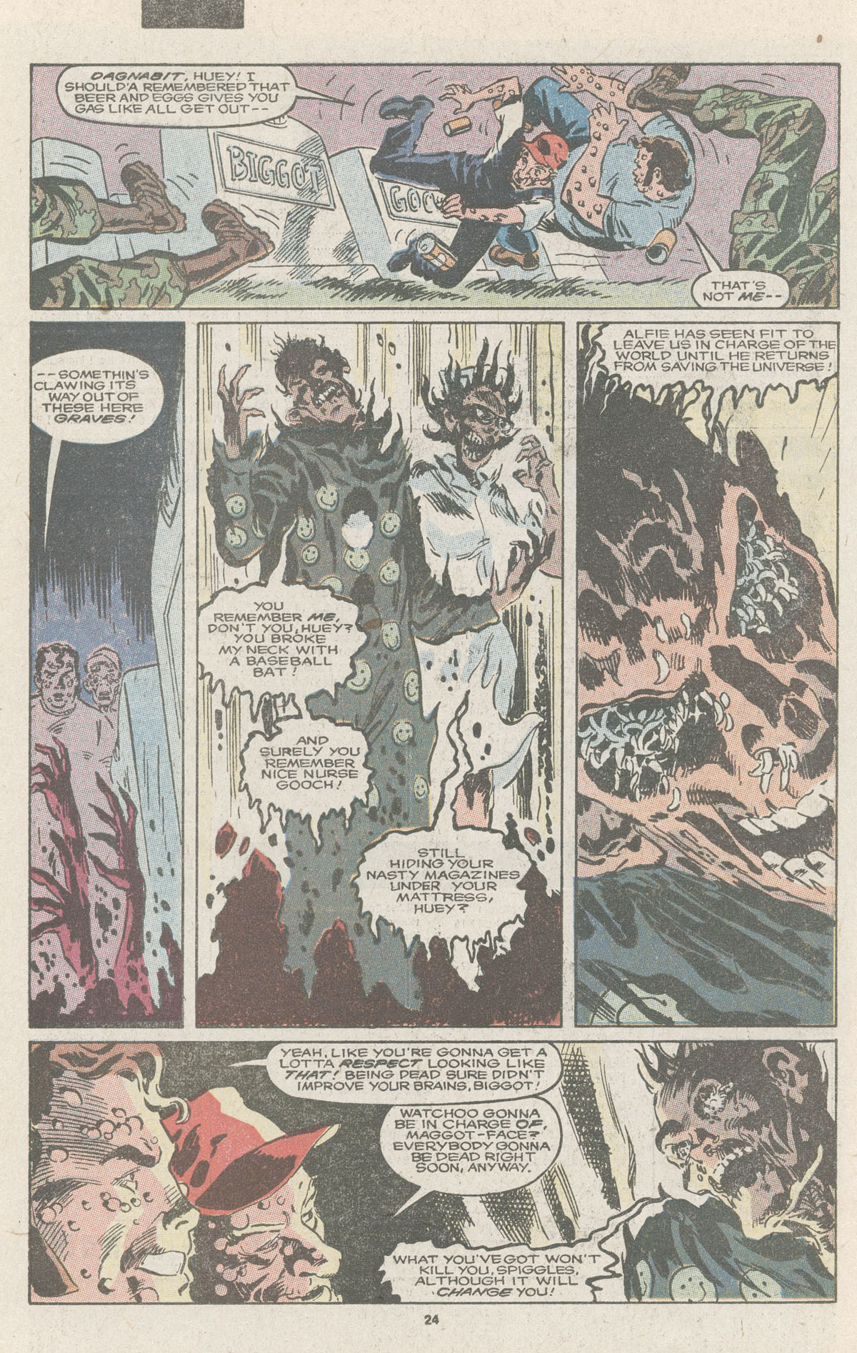 Read online Nth Man the Ultimate Ninja comic -  Issue #11 - 26