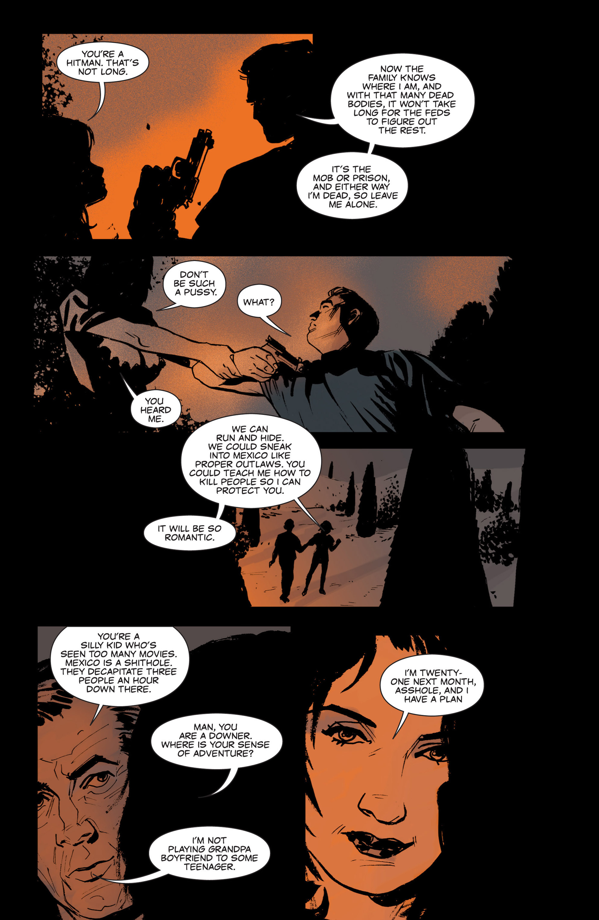 Read online Sex and Violence comic -  Issue # Full - 28