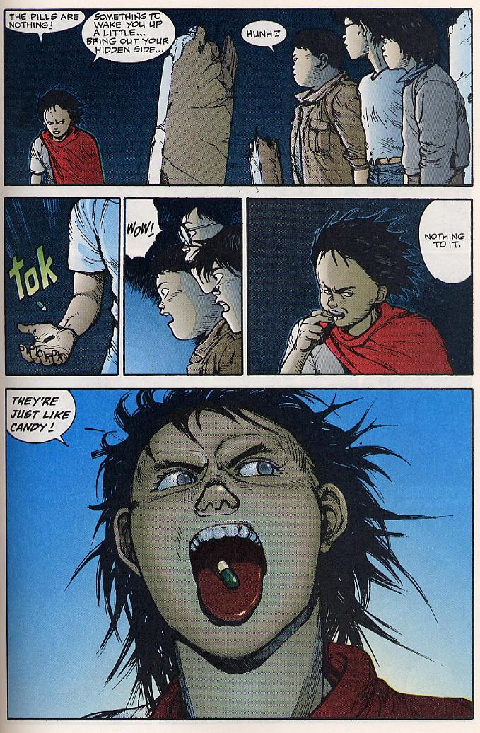 Read online Akira comic -  Issue #17 - 52