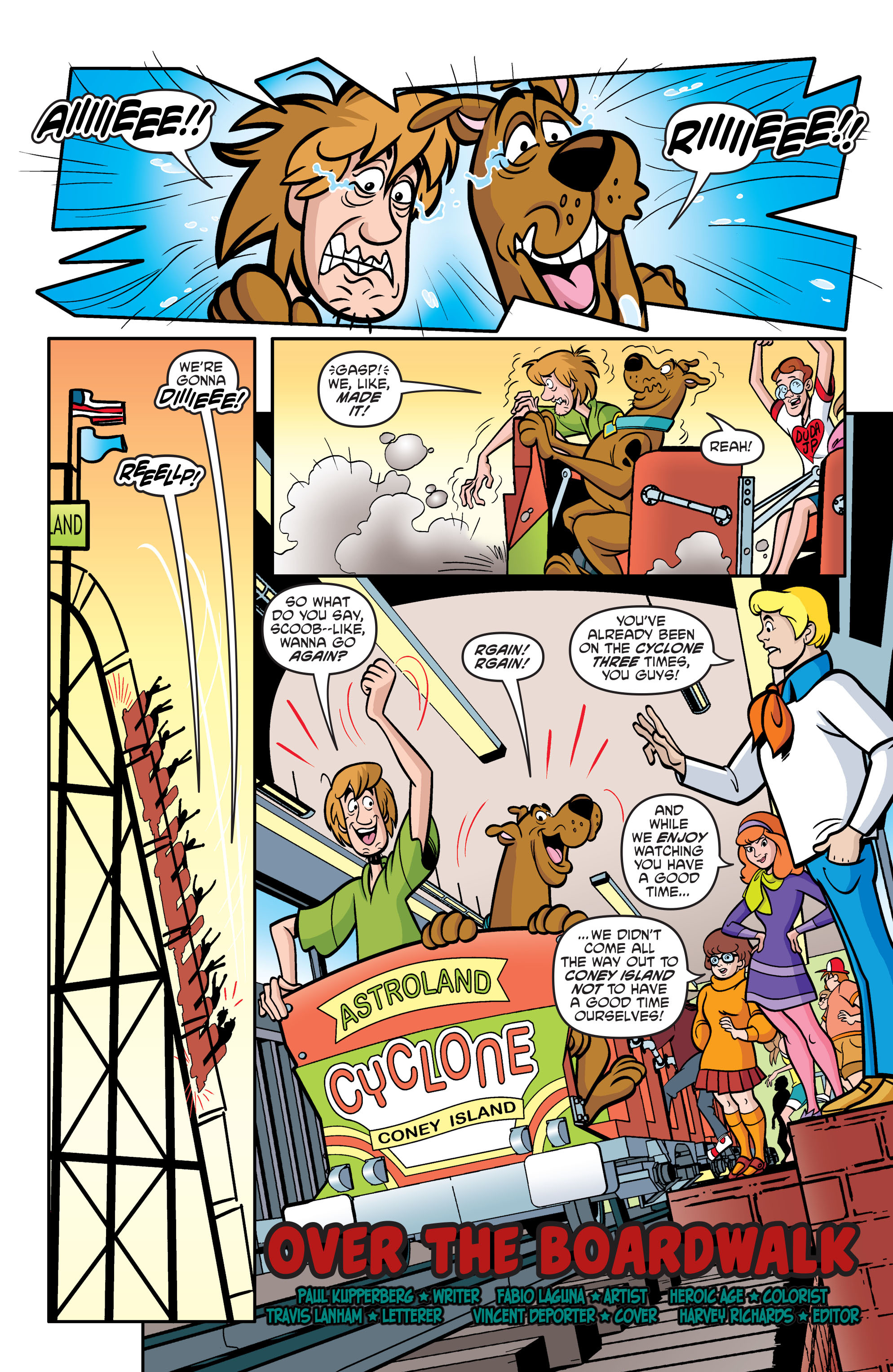 Read online Scooby-Doo: Where Are You? comic -  Issue #54 - 12