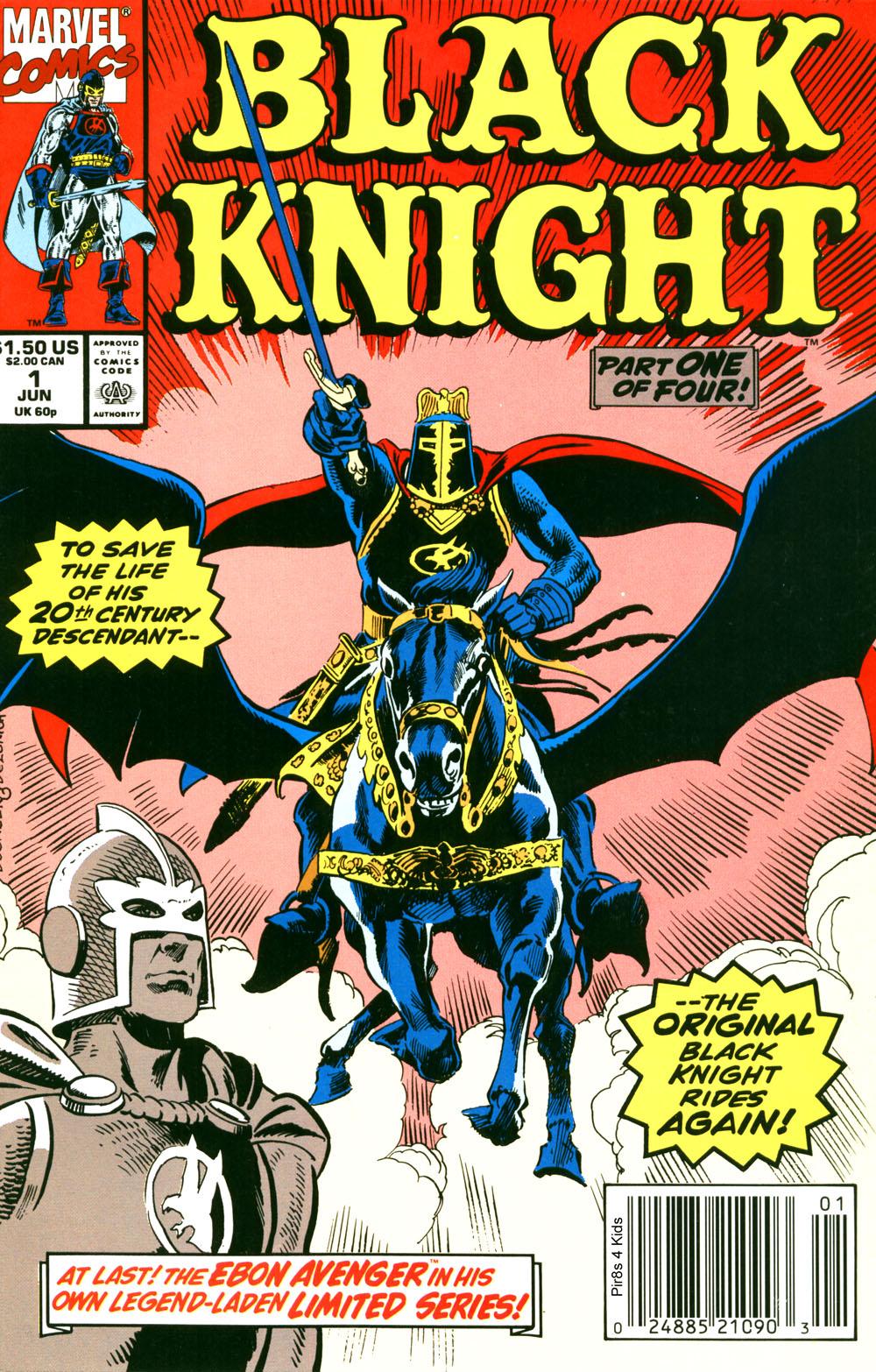 Black Knight (1990) 1 Page 1
