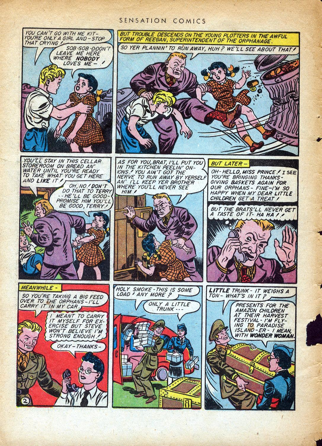 Read online Sensation (Mystery) Comics comic -  Issue #37 - 4