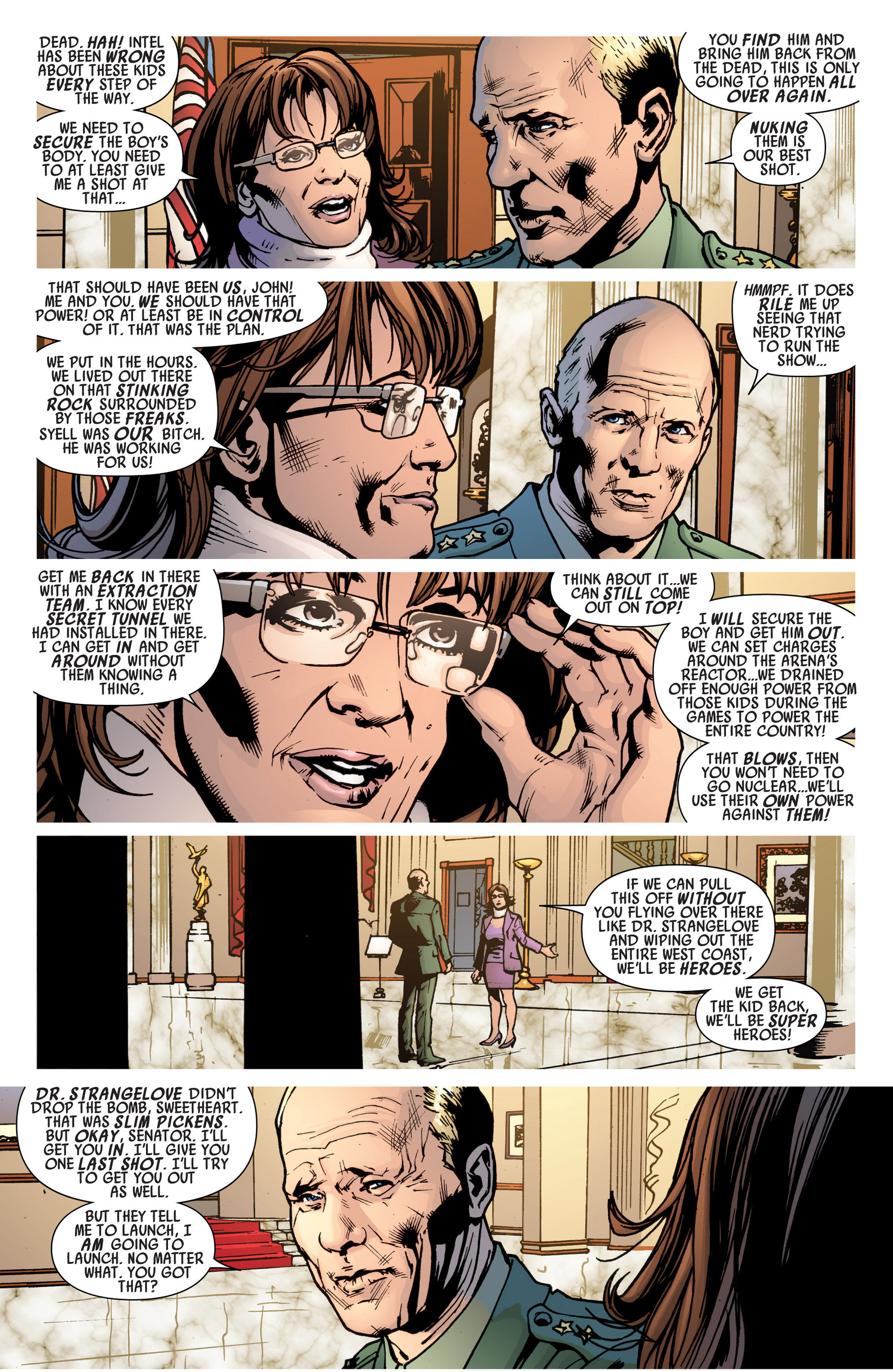 Read online America's Got Powers comic -  Issue #6 - 9