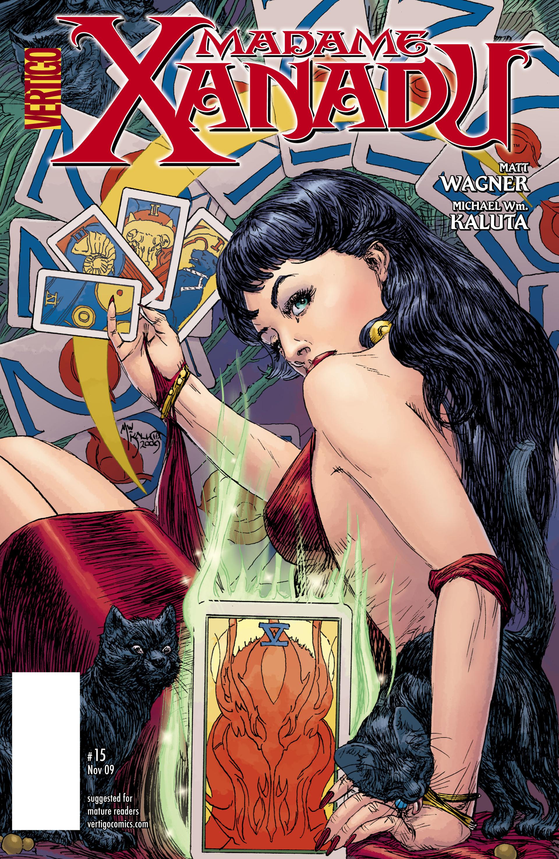 Madame Xanadu issue 15 - Page 1