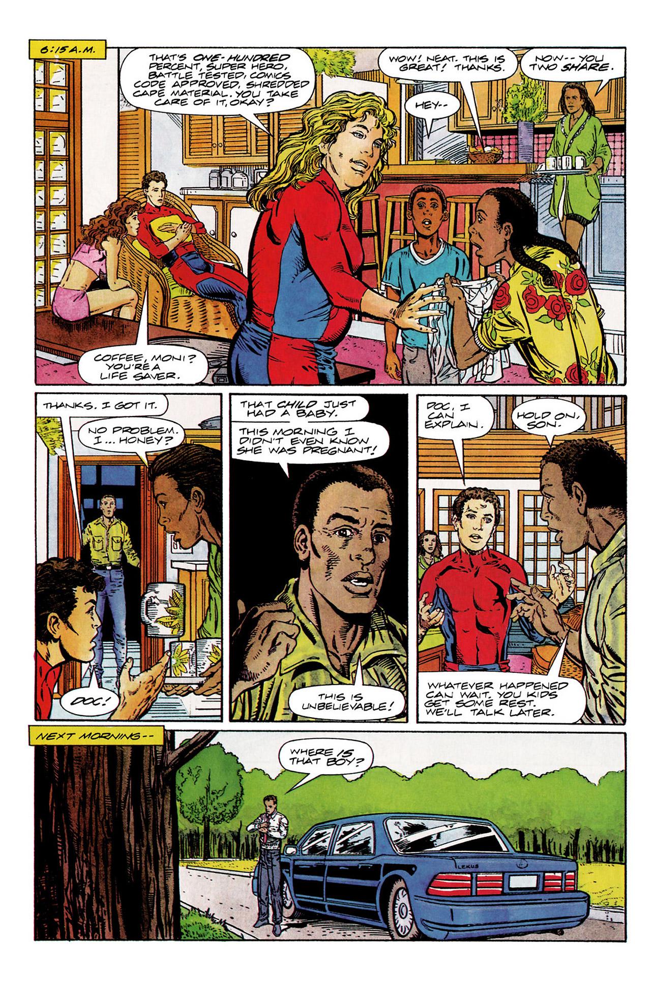 Read online Harbinger (1992) comic -  Issue #10 - 4