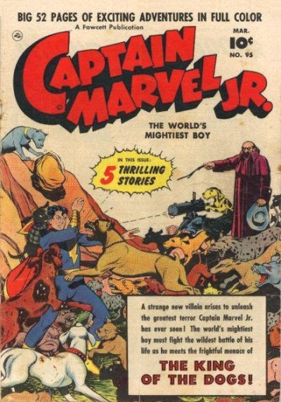 Captain Marvel, Jr. issue 95 - Page 1
