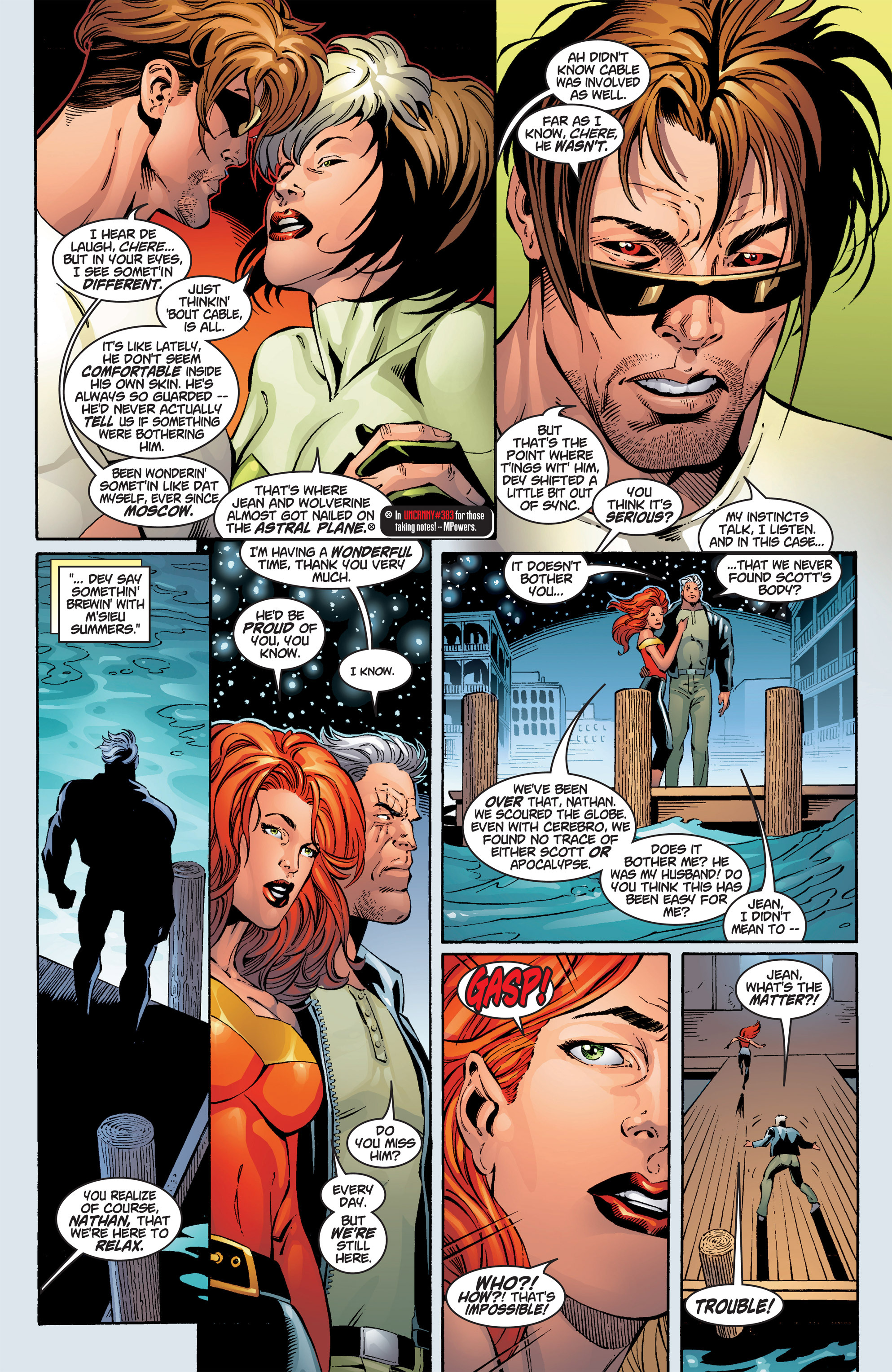 Read online Uncanny X-Men (1963) comic -  Issue #386 - 5