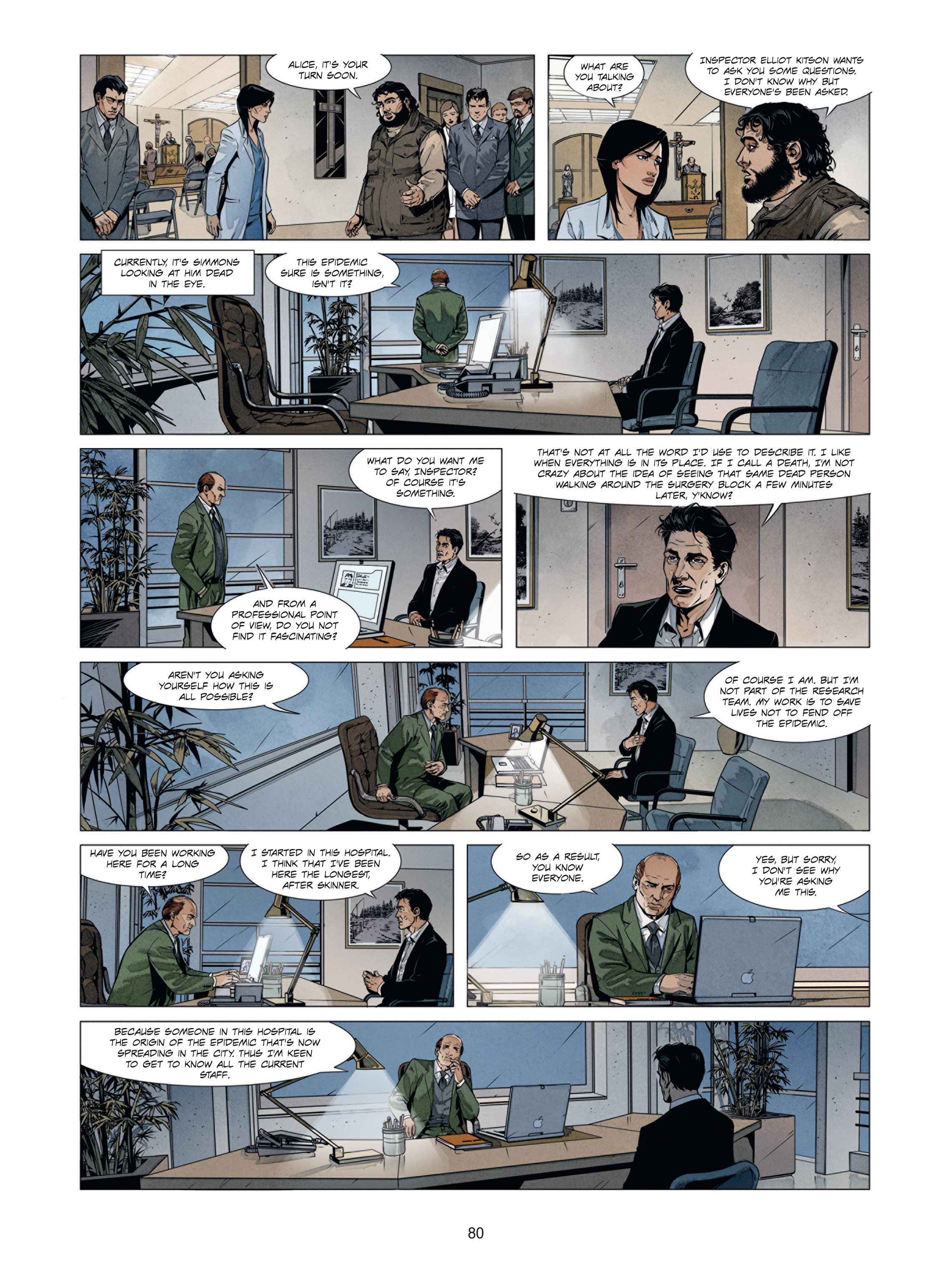 Read online Alice Matheson comic -  Issue #1 - 79