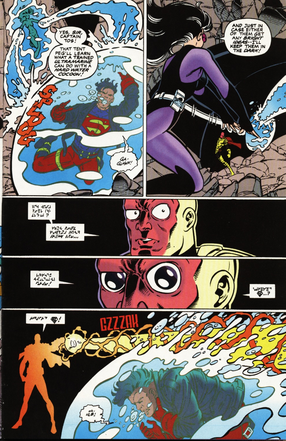 Read online Superboy & The Ravers comic -  Issue #2 - 4