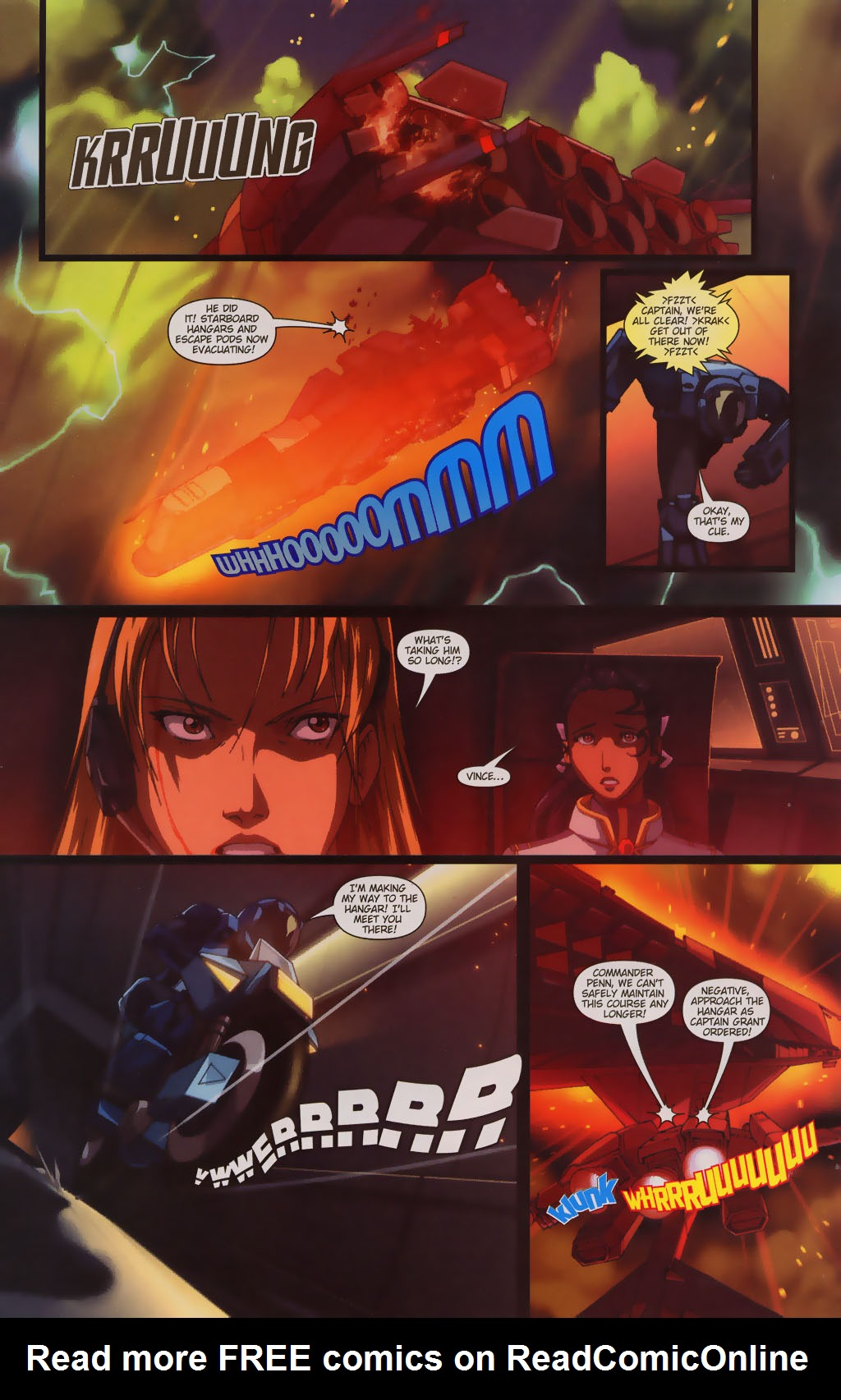 Read online Robotech: Prelude to the Shadow Chronicles comic -  Issue #3 - 4