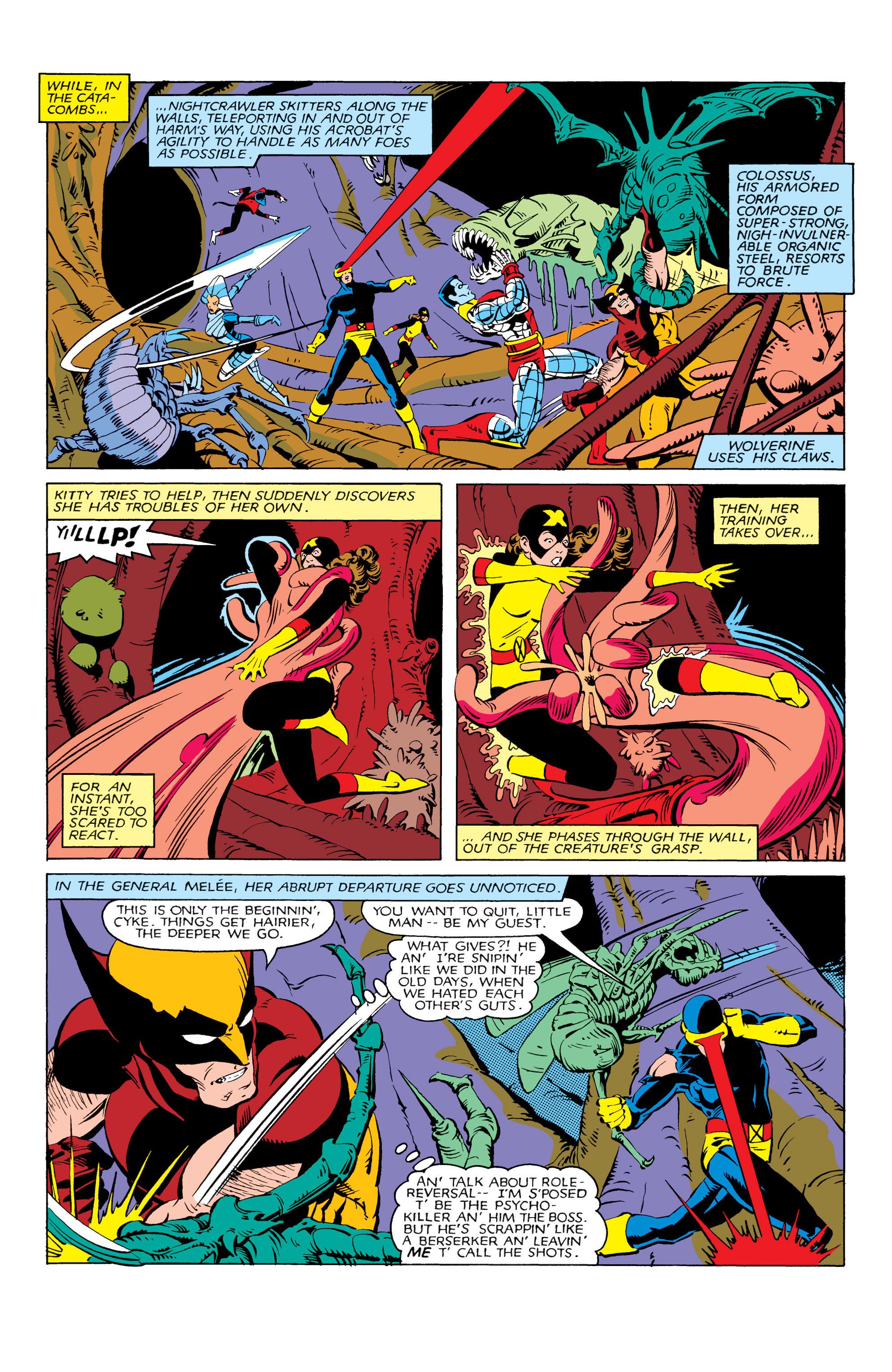 Read online Uncanny X-Men (1963) comic -  Issue #166 - 20