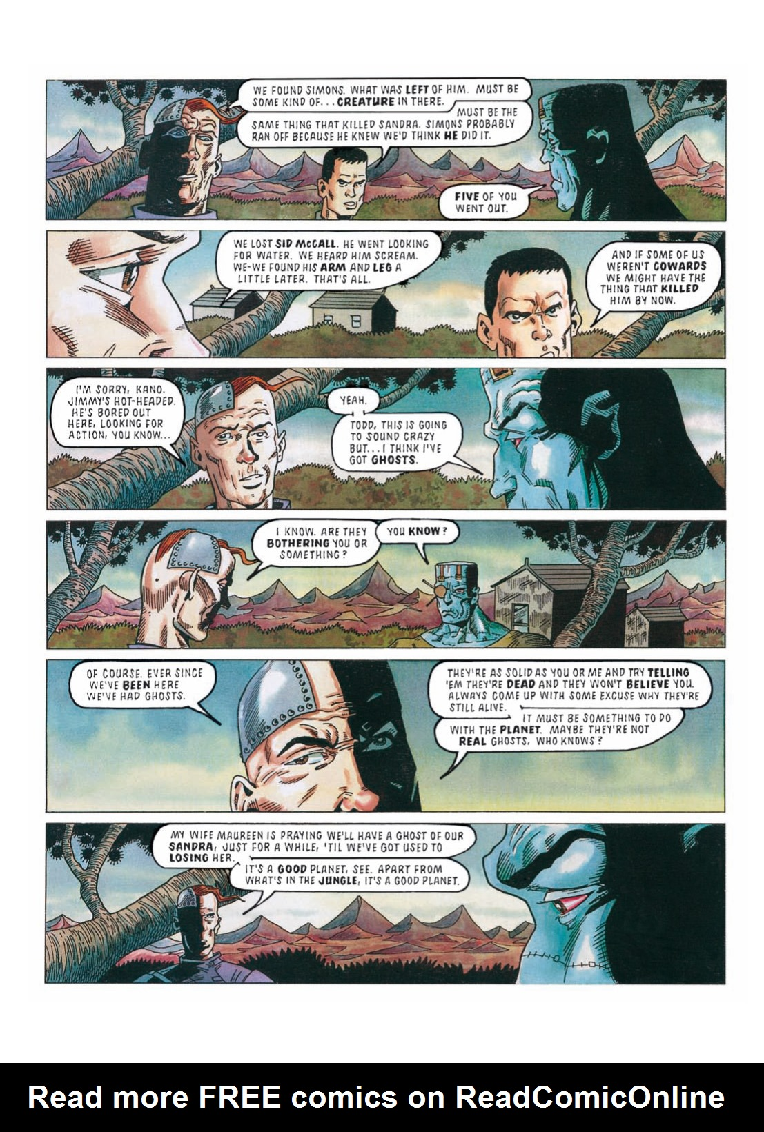 Read online The Complete Bad Company comic -  Issue # TPB - 272