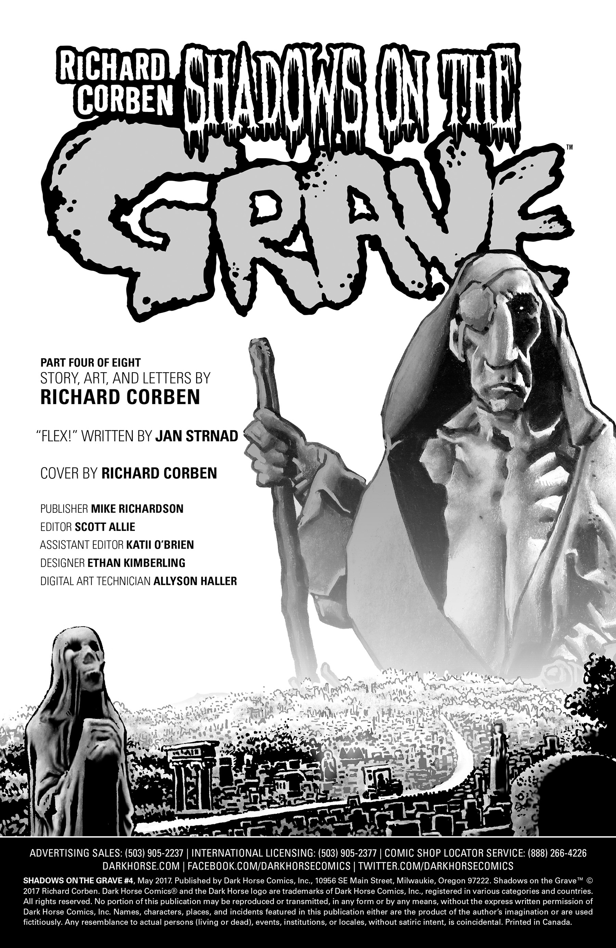 Read online Shadows on the Grave comic -  Issue #4 - 35