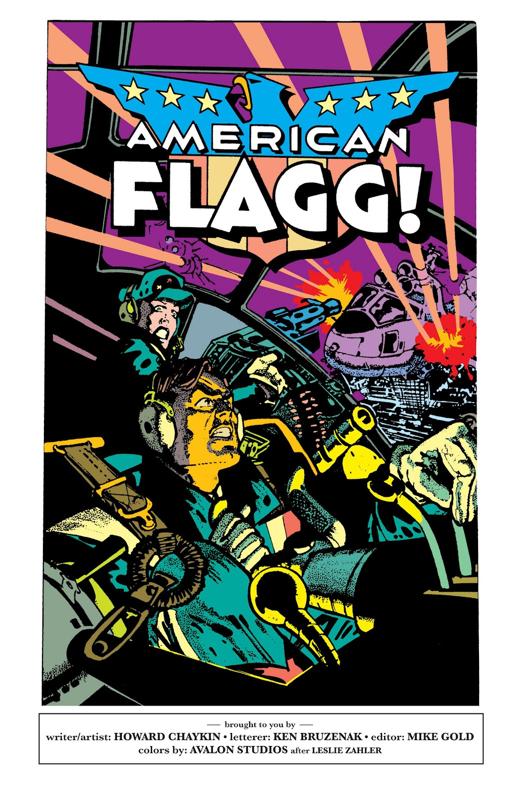 American Flagg! issue Definitive Collection (Part 2) - Page 76