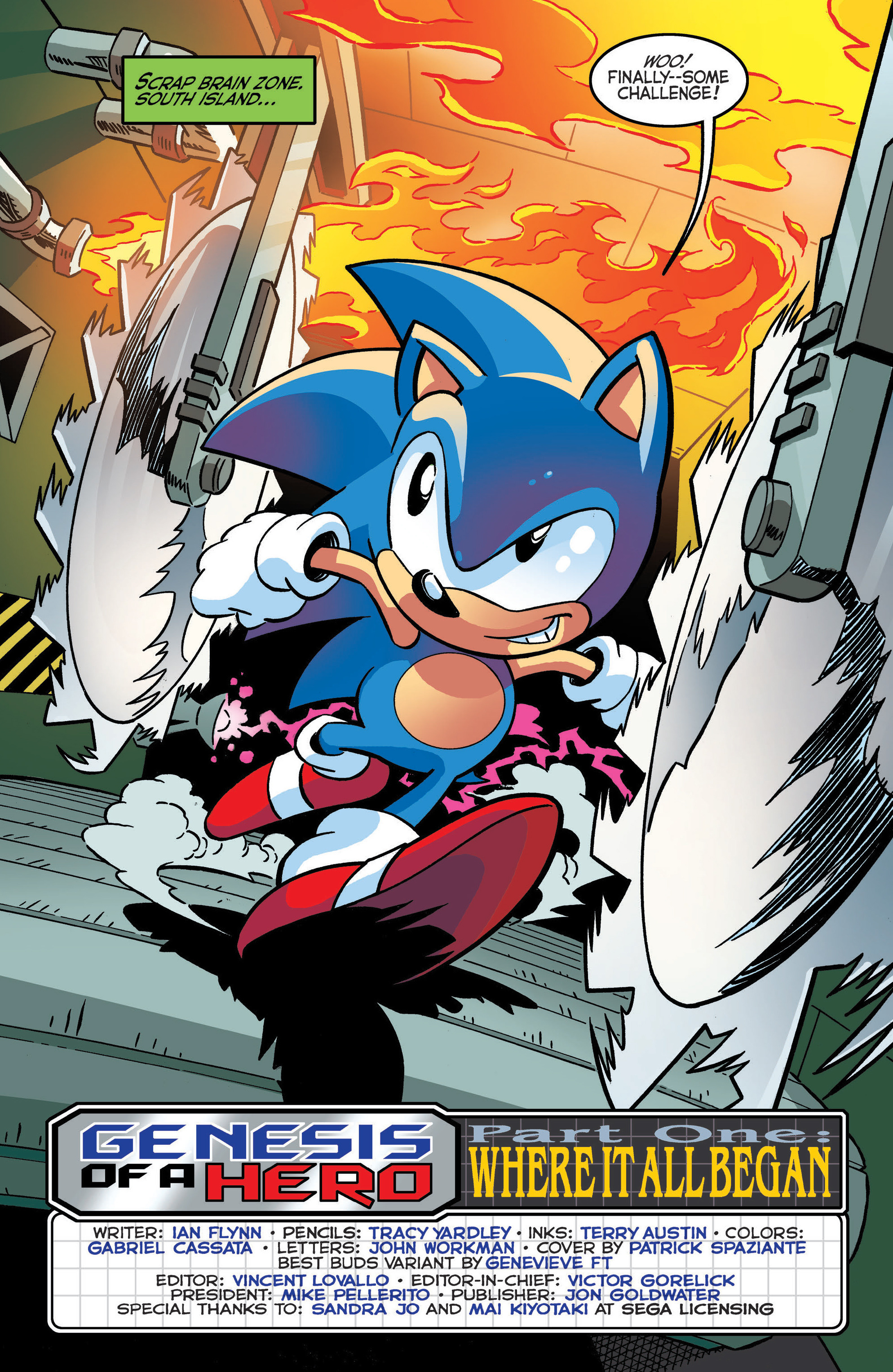 Read online Sonic The Hedgehog comic -  Issue #288 - 3