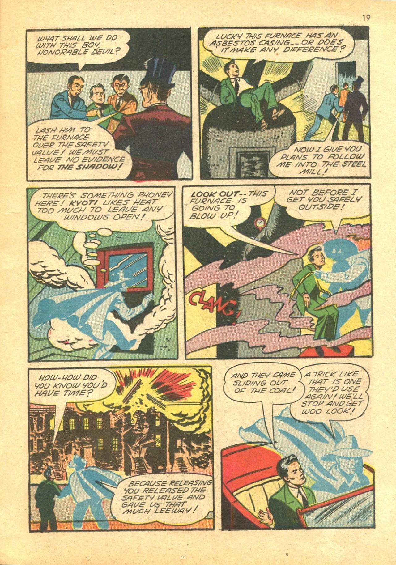 Read online Shadow Comics comic -  Issue #24 - 19
