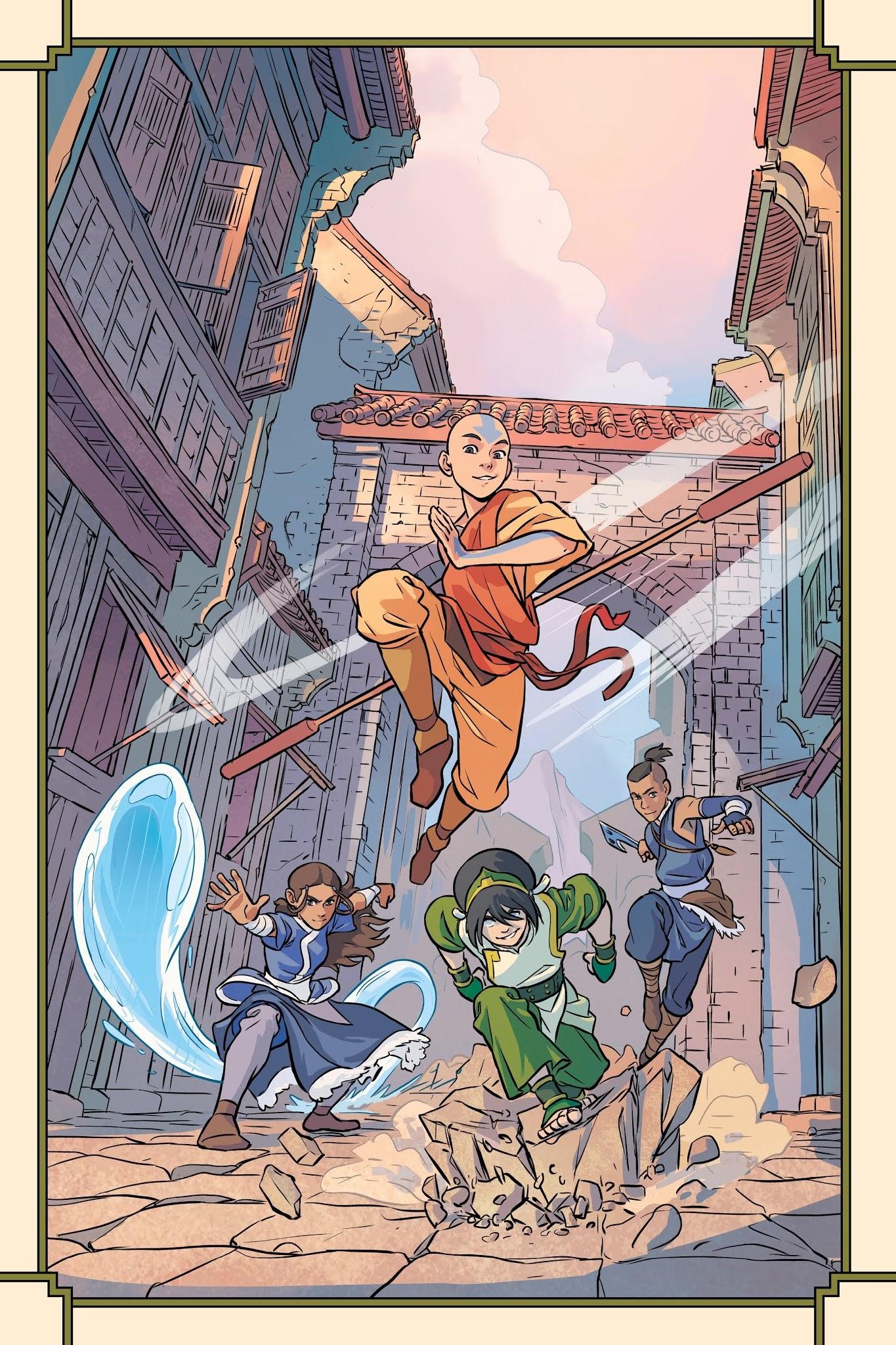Nickelodeon Avatar The Last Airbender Imbalance Tpb 1