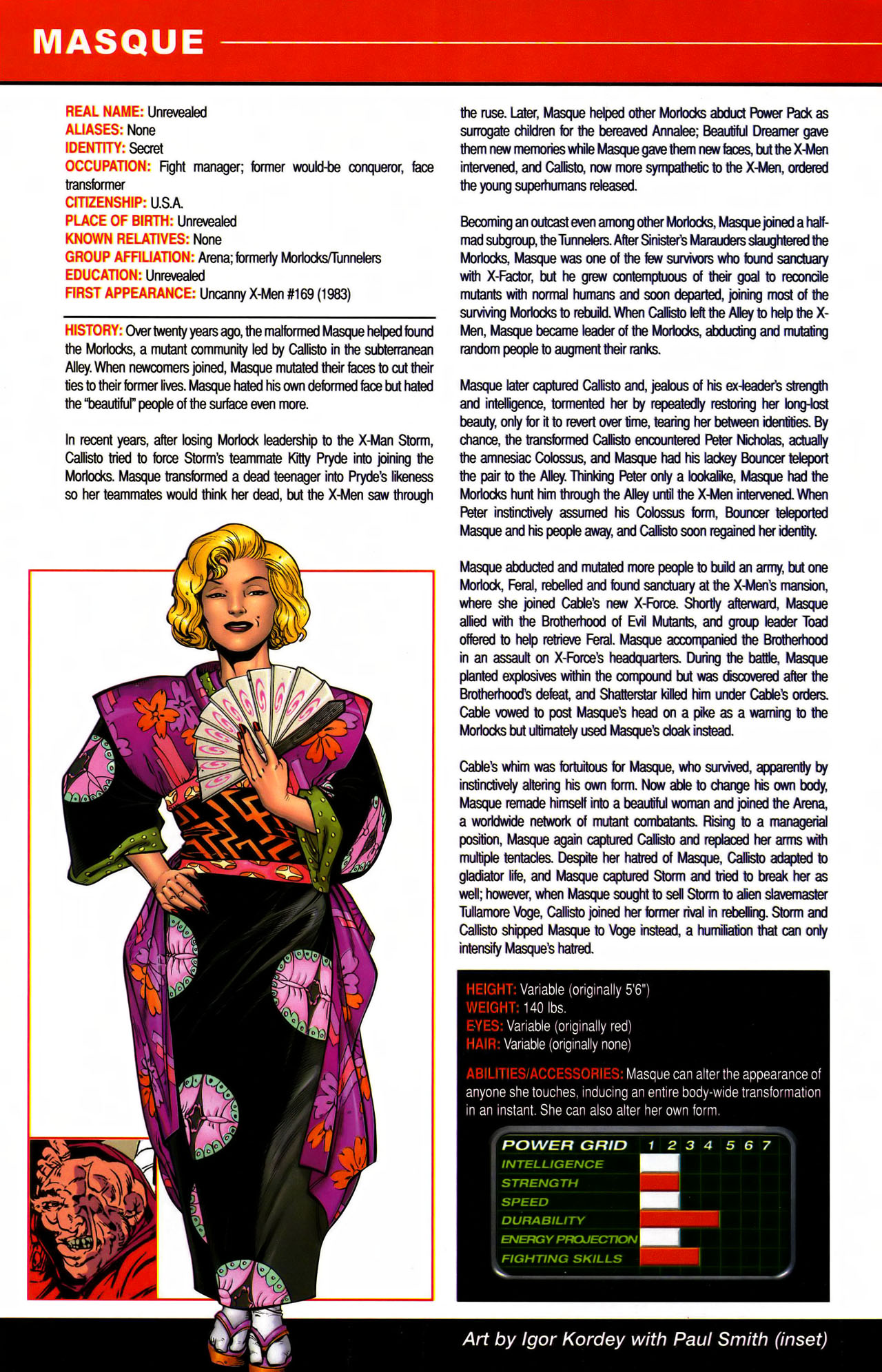 Read online All-New Official Handbook of the Marvel Universe A to Z comic -  Issue #7 - 14