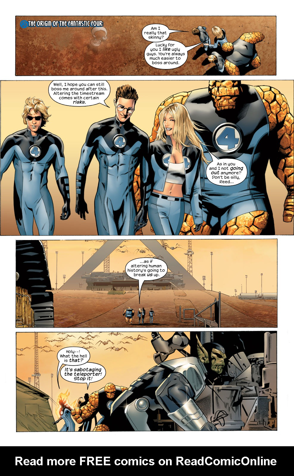 Read online Ultimate Fantastic Four (2004) comic -  Issue #29 - 18