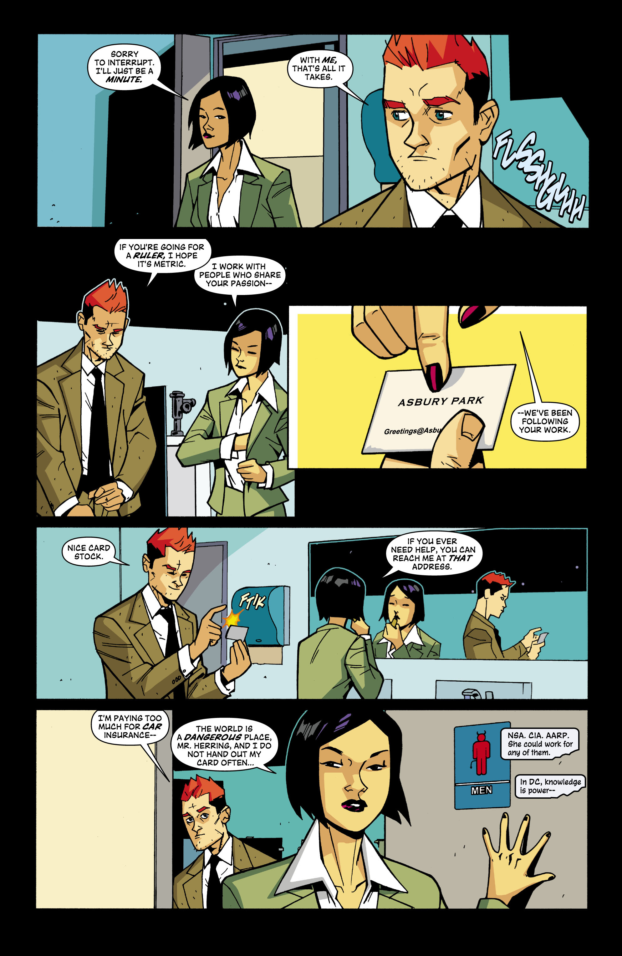 Read online Red Herring comic -  Issue #3 - 3