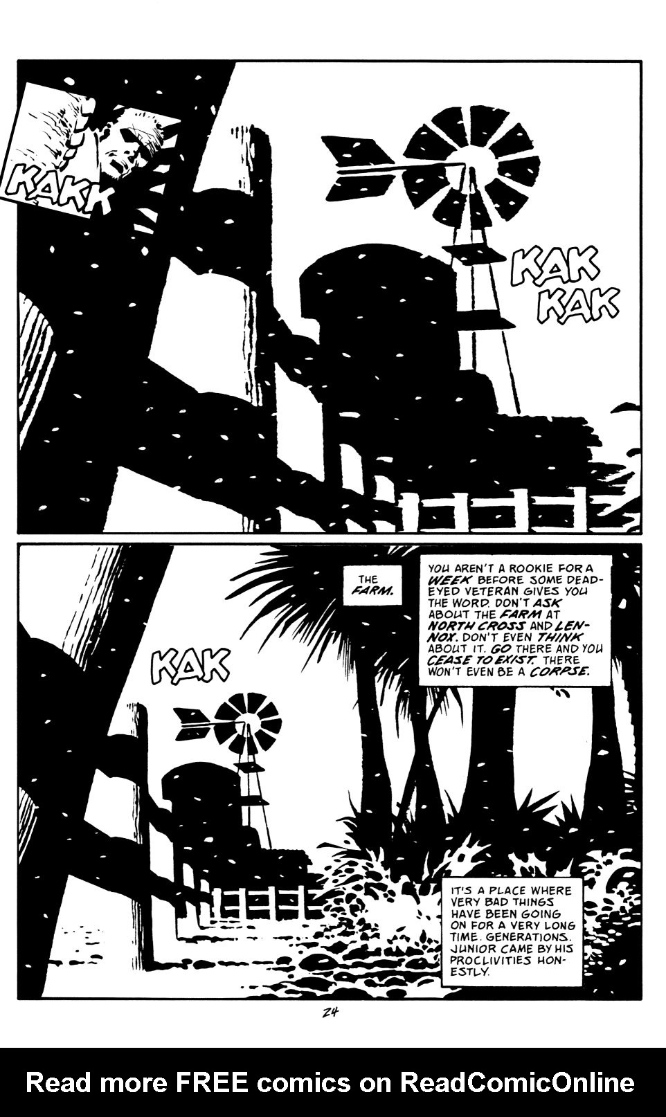 Read online Sin City: That Yellow Bastard comic -  Issue #6 - 24