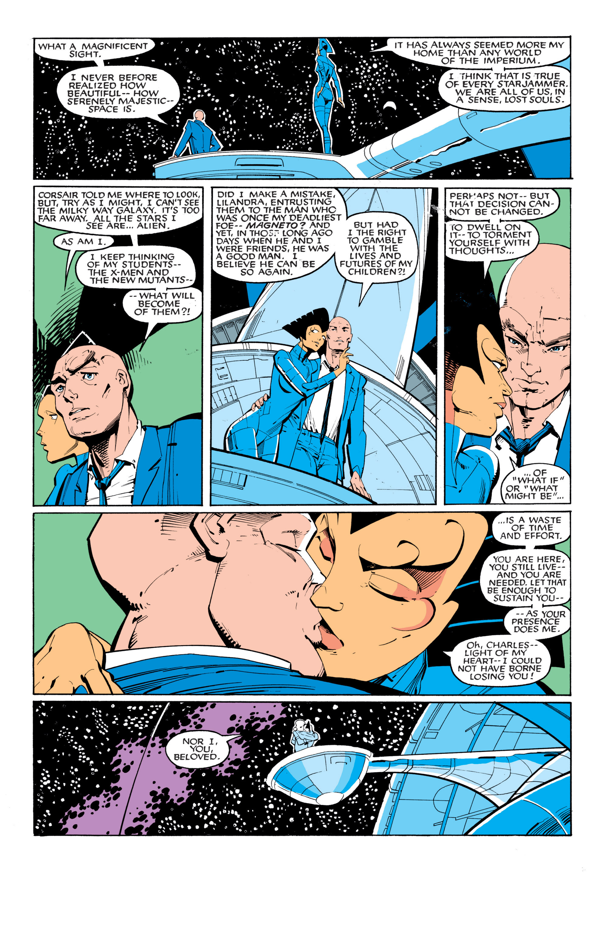 Read online Uncanny X-Men (1963) comic -  Issue #201 - 9