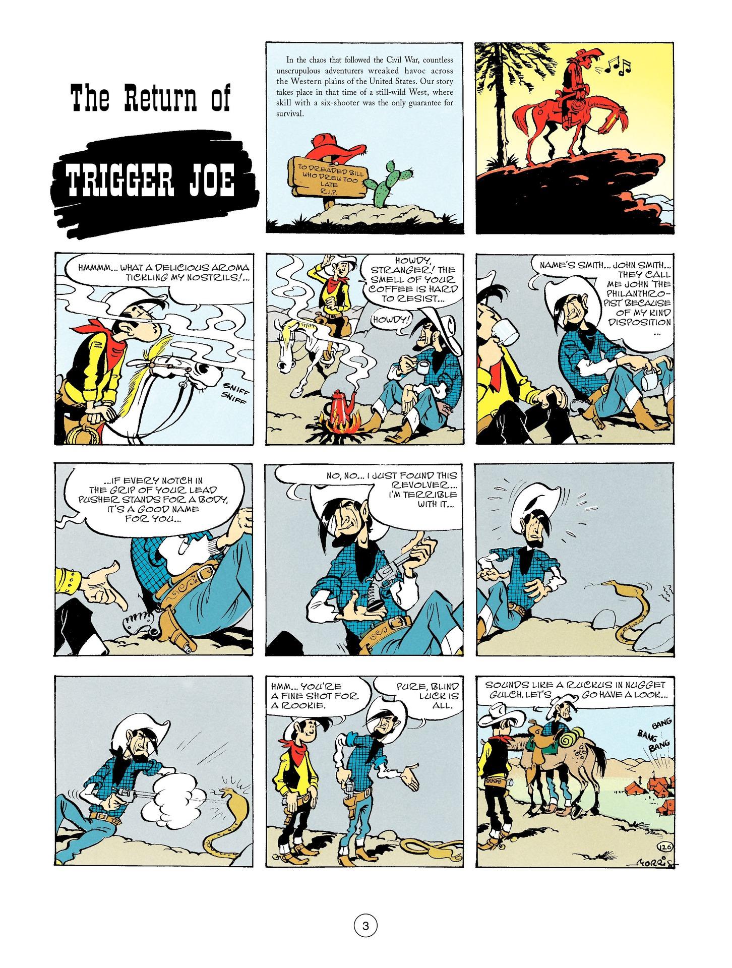 Read online A Lucky Luke Adventure comic -  Issue #56 - 3