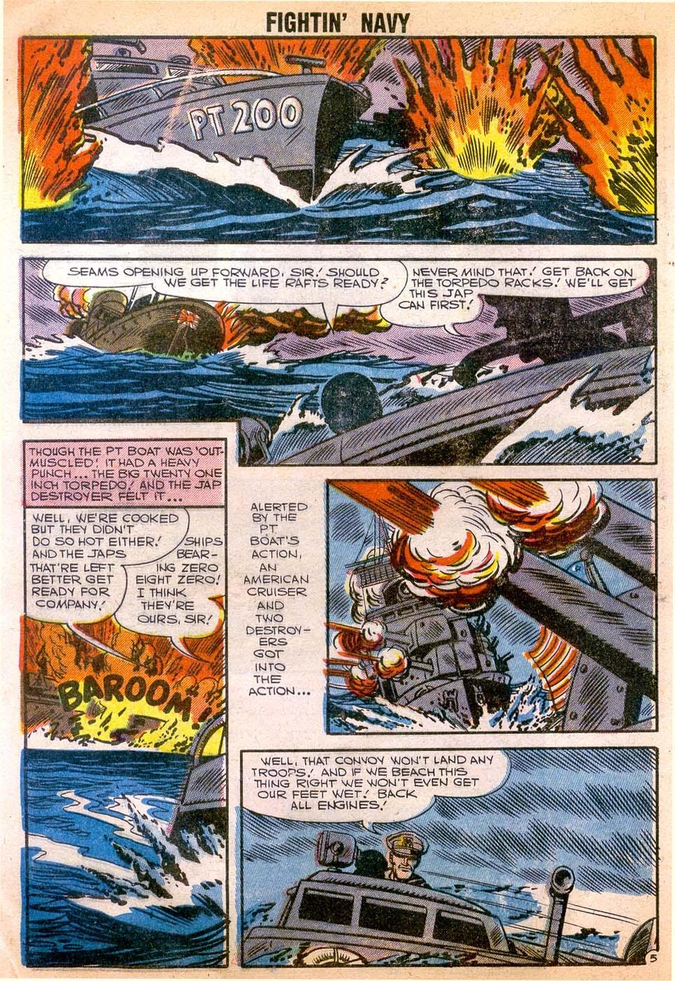 Read online Fightin' Navy comic -  Issue #79 - 8