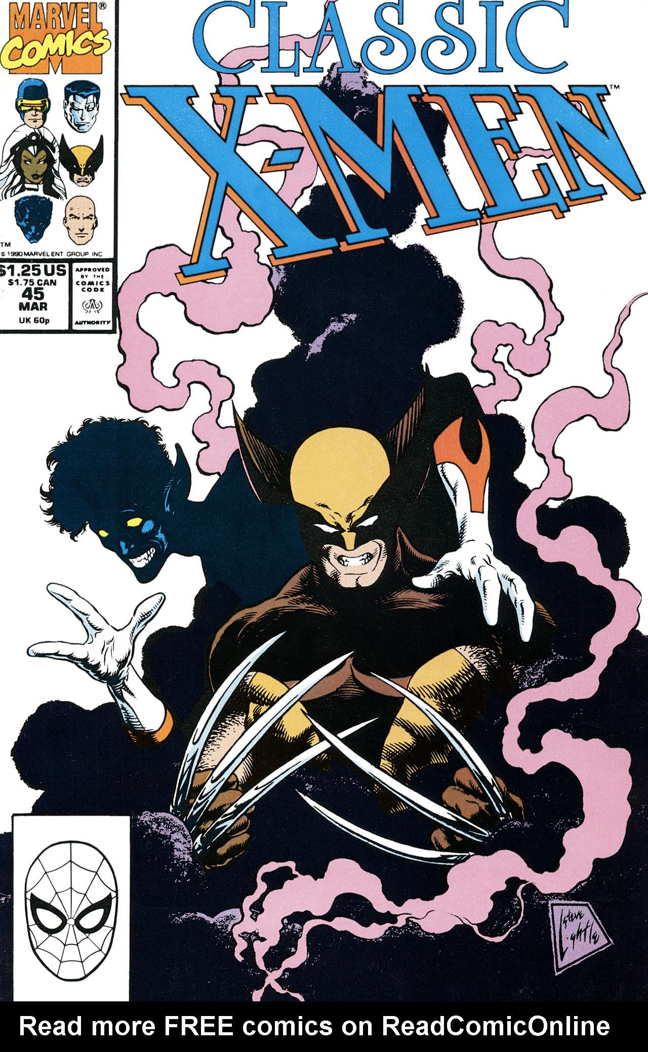 Classic X-Men 45 Page 1