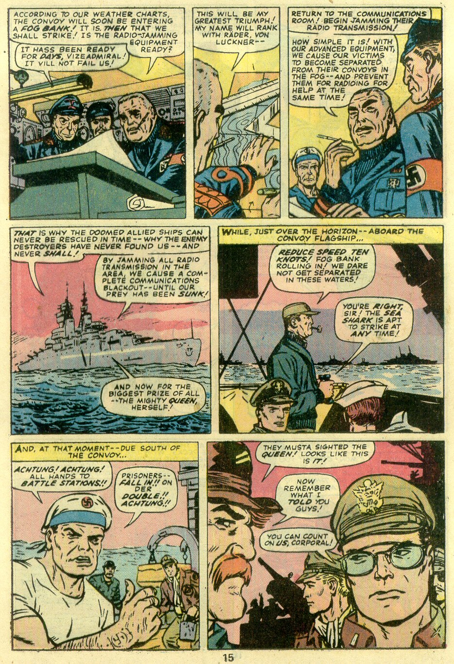 Read online Sgt. Fury comic -  Issue #128 - 17