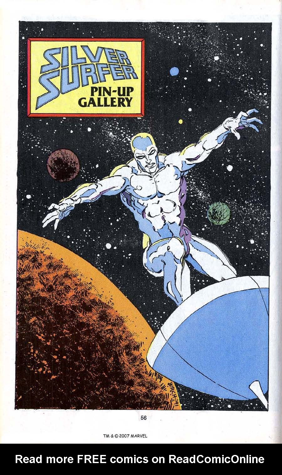 Read online Silver Surfer (1987) comic -  Issue # _Annual 4 - 58