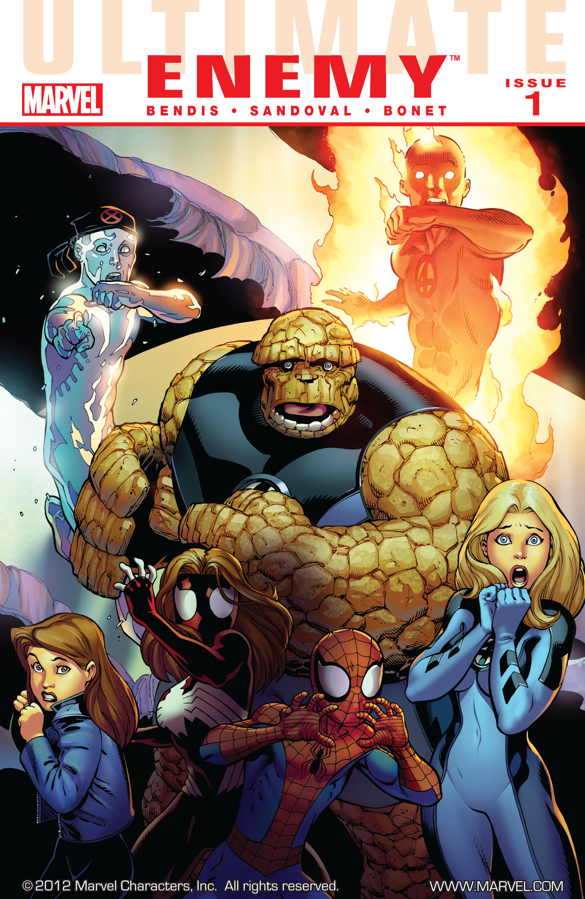 Read online Ultimate Comics Doomsday comic -  Issue # Full - 2