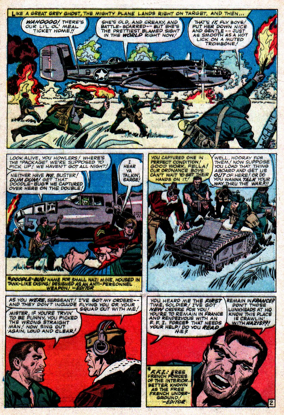 Read online Sgt. Fury comic -  Issue #7 - 4