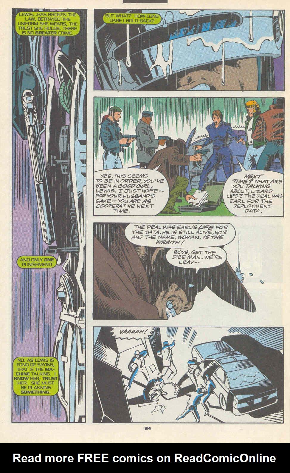 Read online Robocop (1990) comic -  Issue #17 - 19